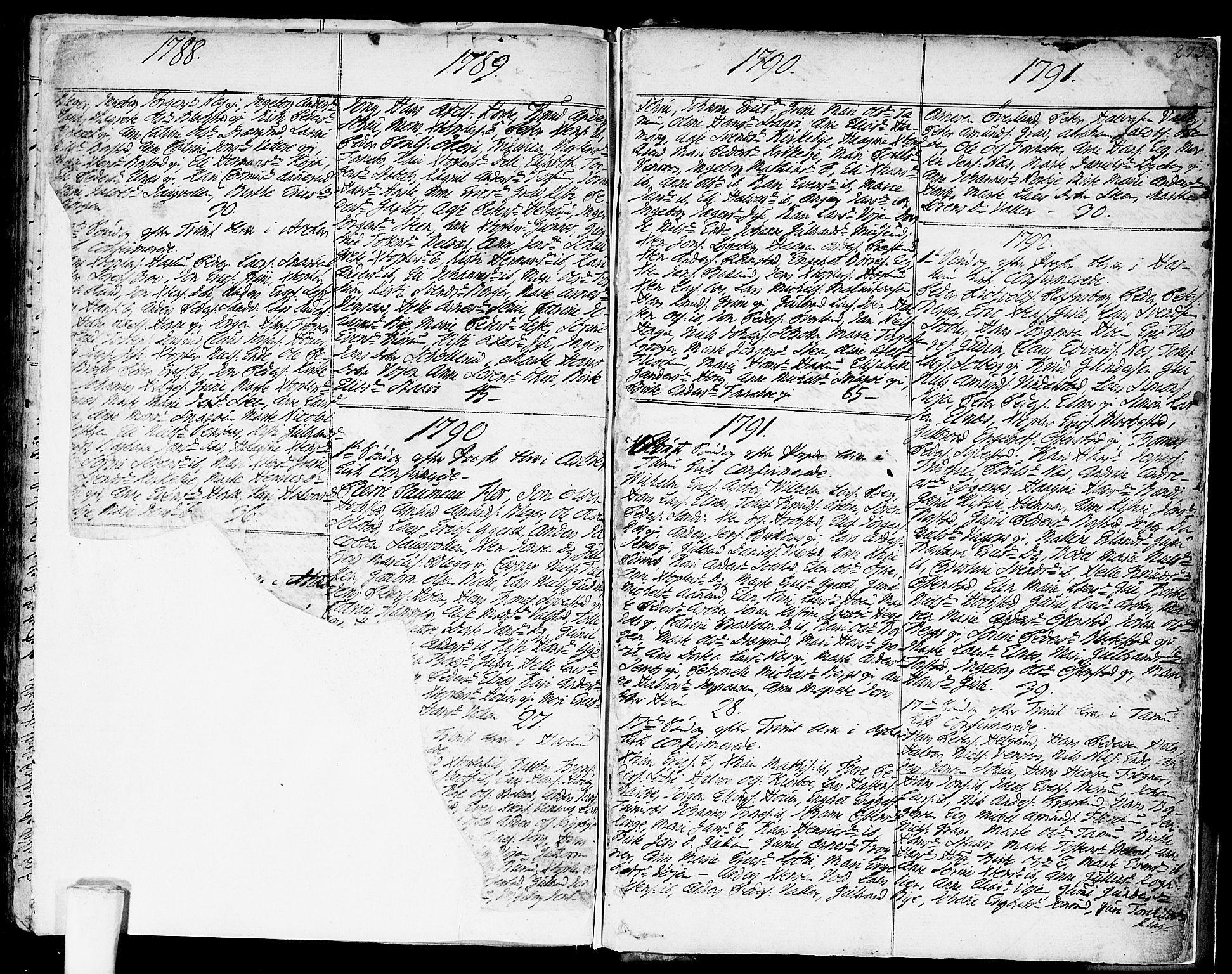 SAO, Asker prestekontor Kirkebøker, F/Fa/L0003: Ministerialbok nr. I 3, 1767-1807, s. 273