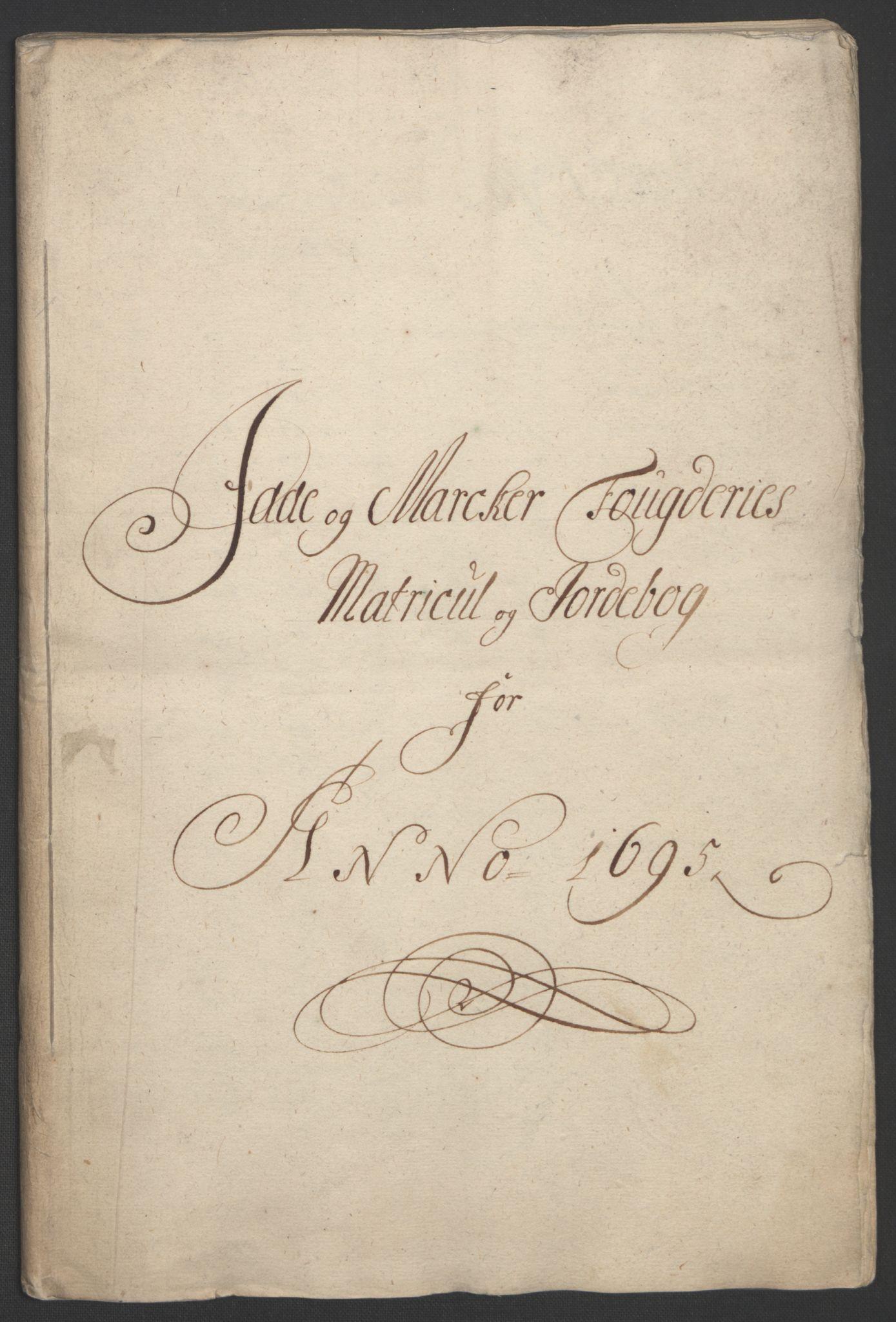RA, Rentekammeret inntil 1814, Reviderte regnskaper, Fogderegnskap, R01/L0012: Fogderegnskap Idd og Marker, 1694-1695, s. 173
