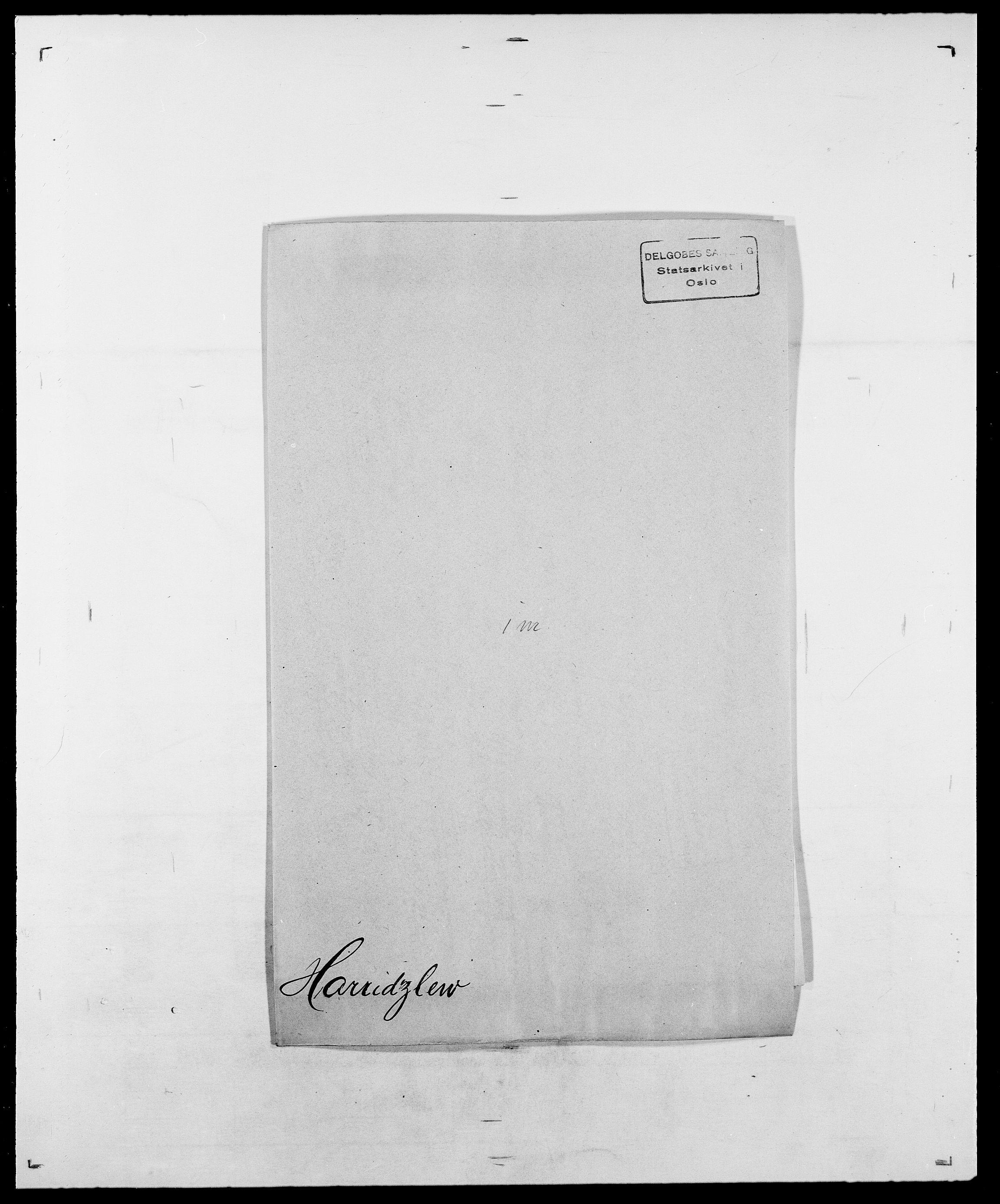 SAO, Delgobe, Charles Antoine - samling, D/Da/L0016: Hamborg - Hektoen, s. 447