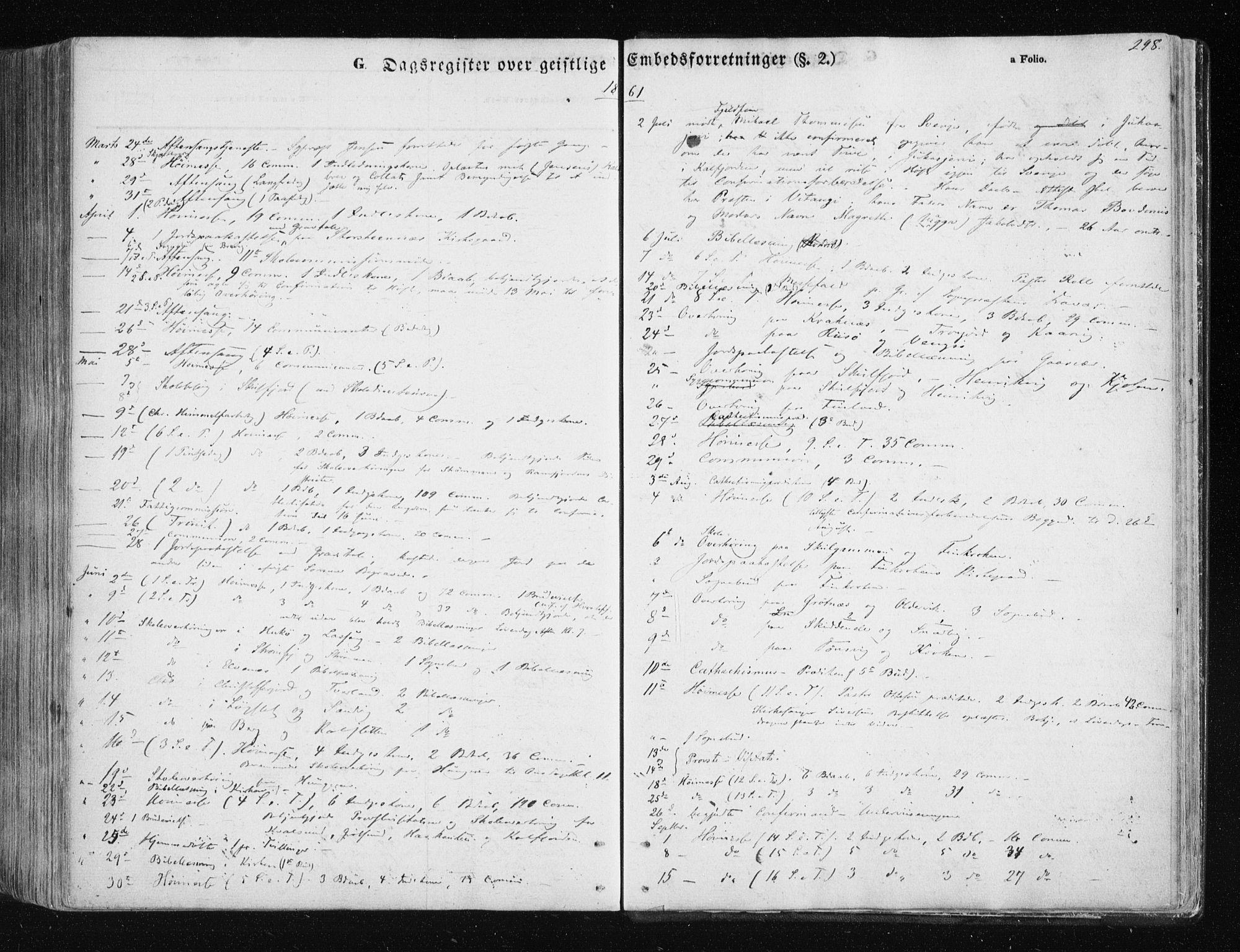 SATØ, Tromsøysund sokneprestkontor, G/Ga/L0001kirke: Ministerialbok nr. 1, 1856-1867, s. 298