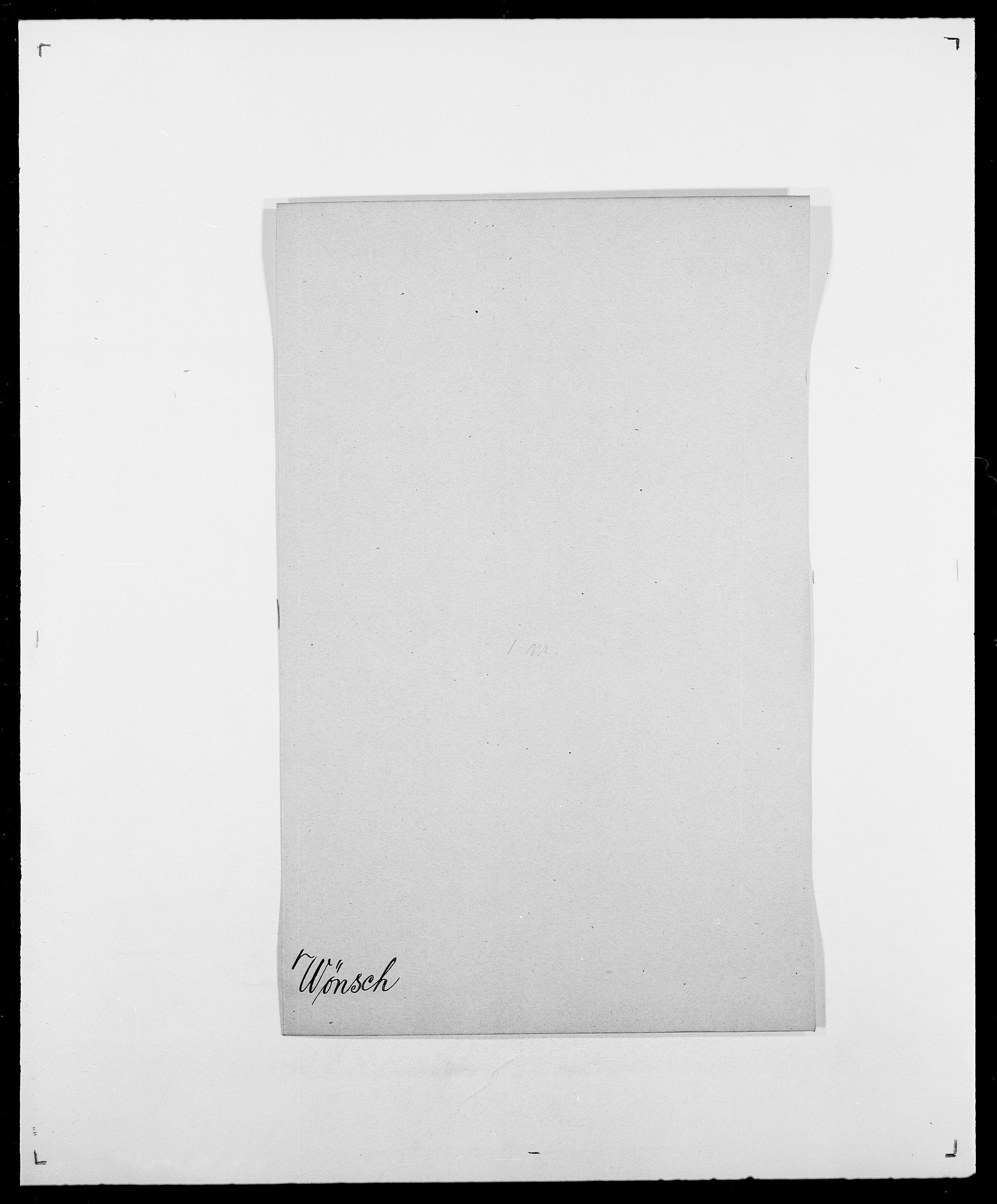 SAO, Delgobe, Charles Antoine - samling, D/Da/L0043: Wulfsberg - v. Zanten, s. 47