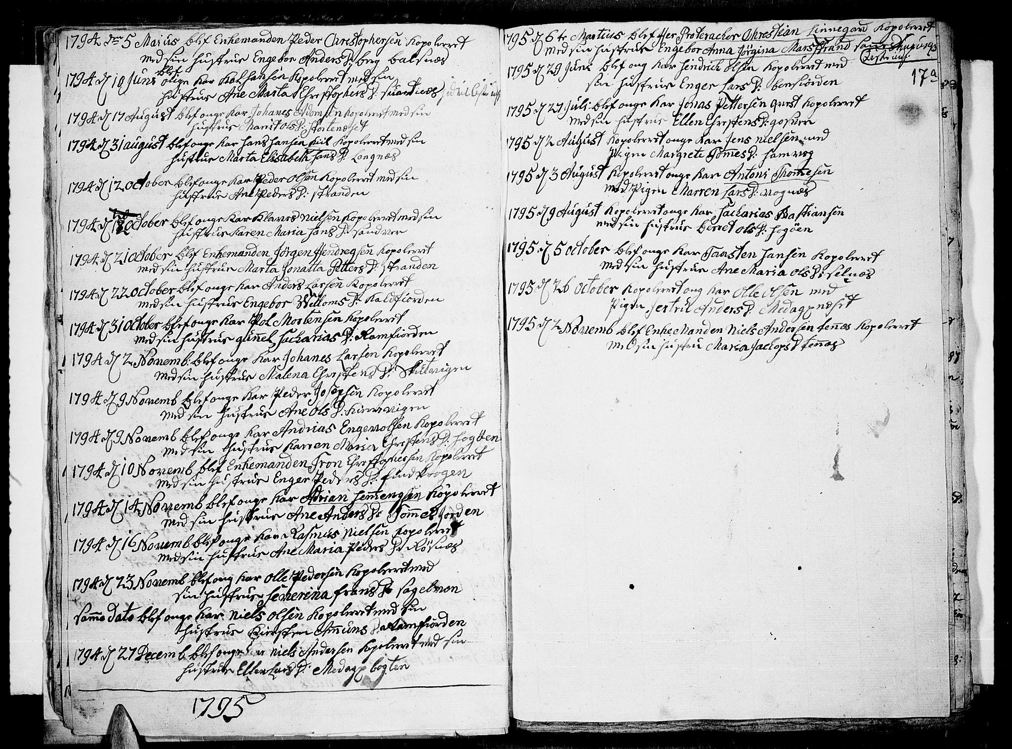 SATØ, Tromsø sokneprestkontor/stiftsprosti/domprosti, G/Ga/L0004kirke: Ministerialbok nr. 4, 1787-1795, s. 17