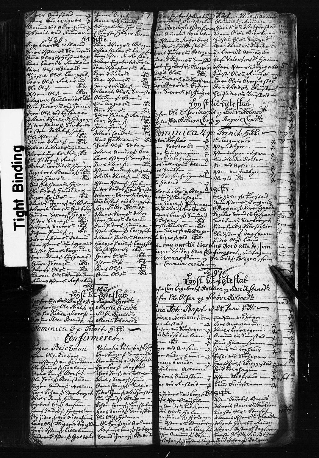SAH, Fåberg prestekontor, Klokkerbok nr. 1, 1727-1767, s. 420-421