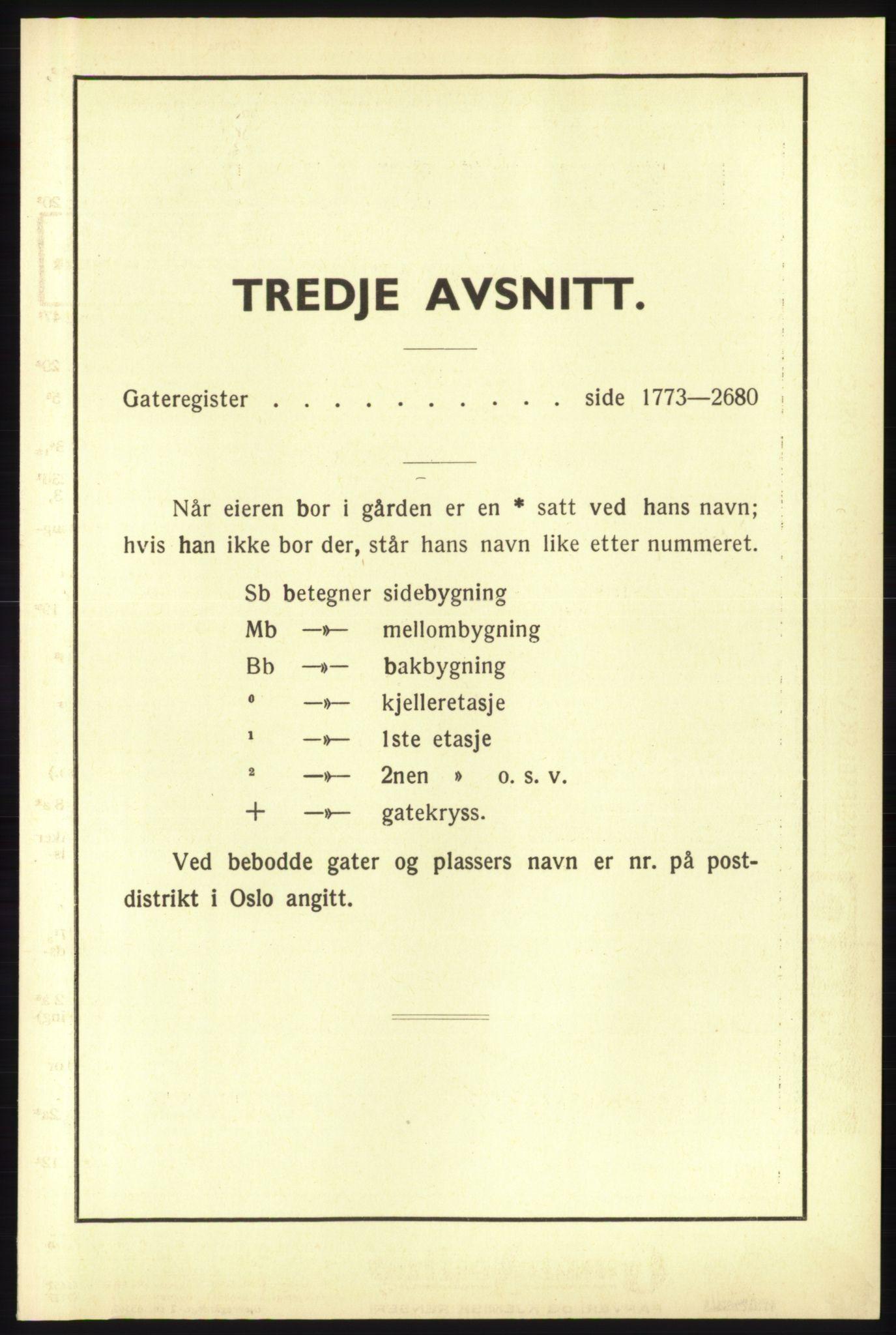 RA, Oslo adressebok (publikasjon)*, 1940, s. upaginert