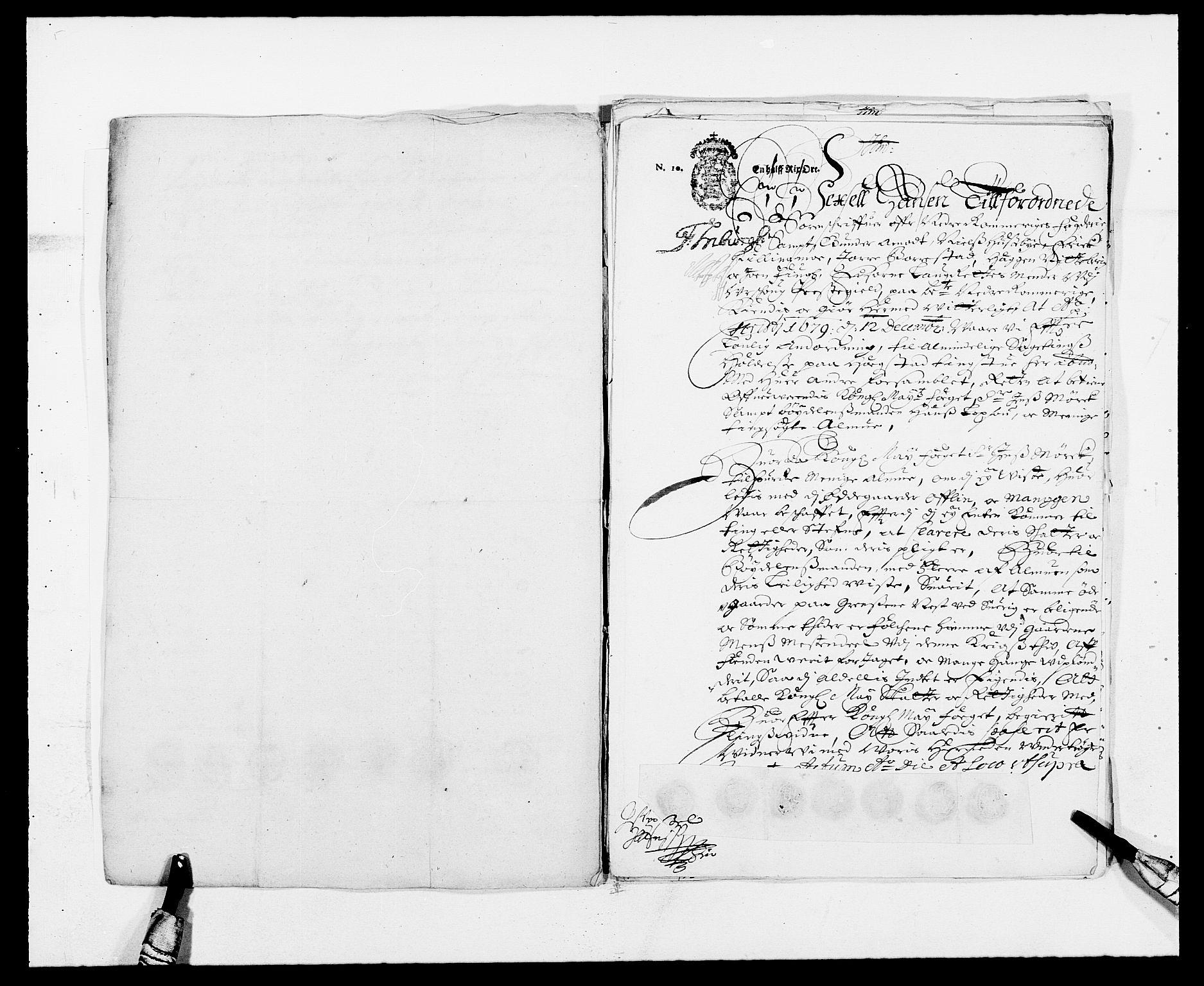 RA, Rentekammeret inntil 1814, Reviderte regnskaper, Fogderegnskap, R11/L0568: Fogderegnskap Nedre Romerike, 1679, s. 271