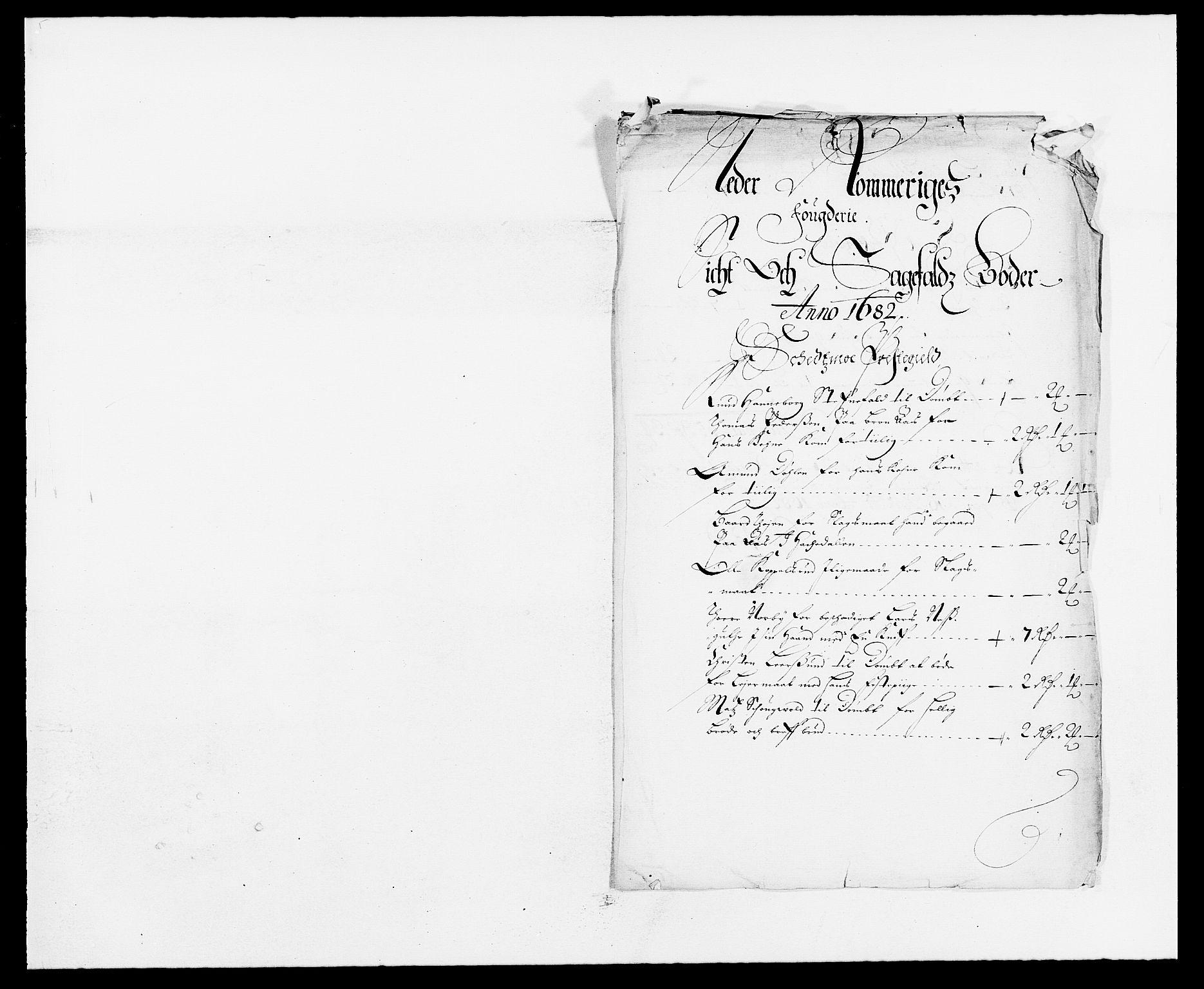 RA, Rentekammeret inntil 1814, Reviderte regnskaper, Fogderegnskap, R11/L0570: Fogderegnskap Nedre Romerike, 1682, s. 78