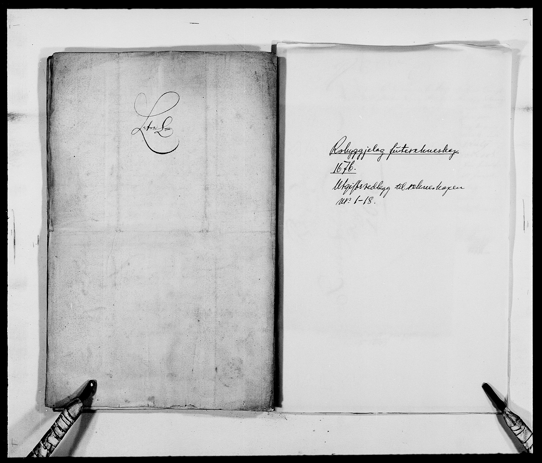RA, Rentekammeret inntil 1814, Reviderte regnskaper, Fogderegnskap, R40/L2434: Fogderegnskap Råbyggelag, 1675-1676, s. 392