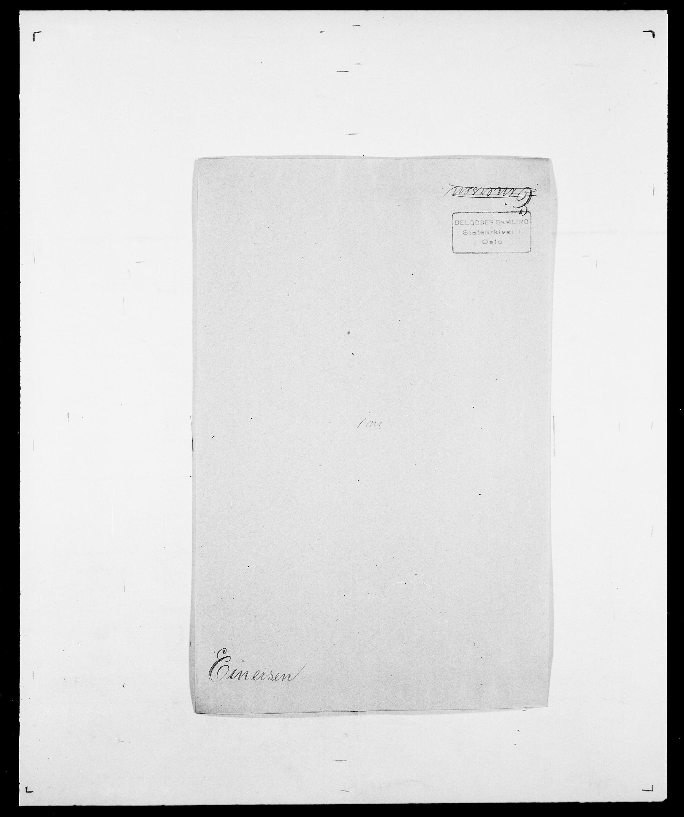 SAO, Delgobe, Charles Antoine - samling, D/Da/L0010: Dürendahl - Fagelund, s. 343