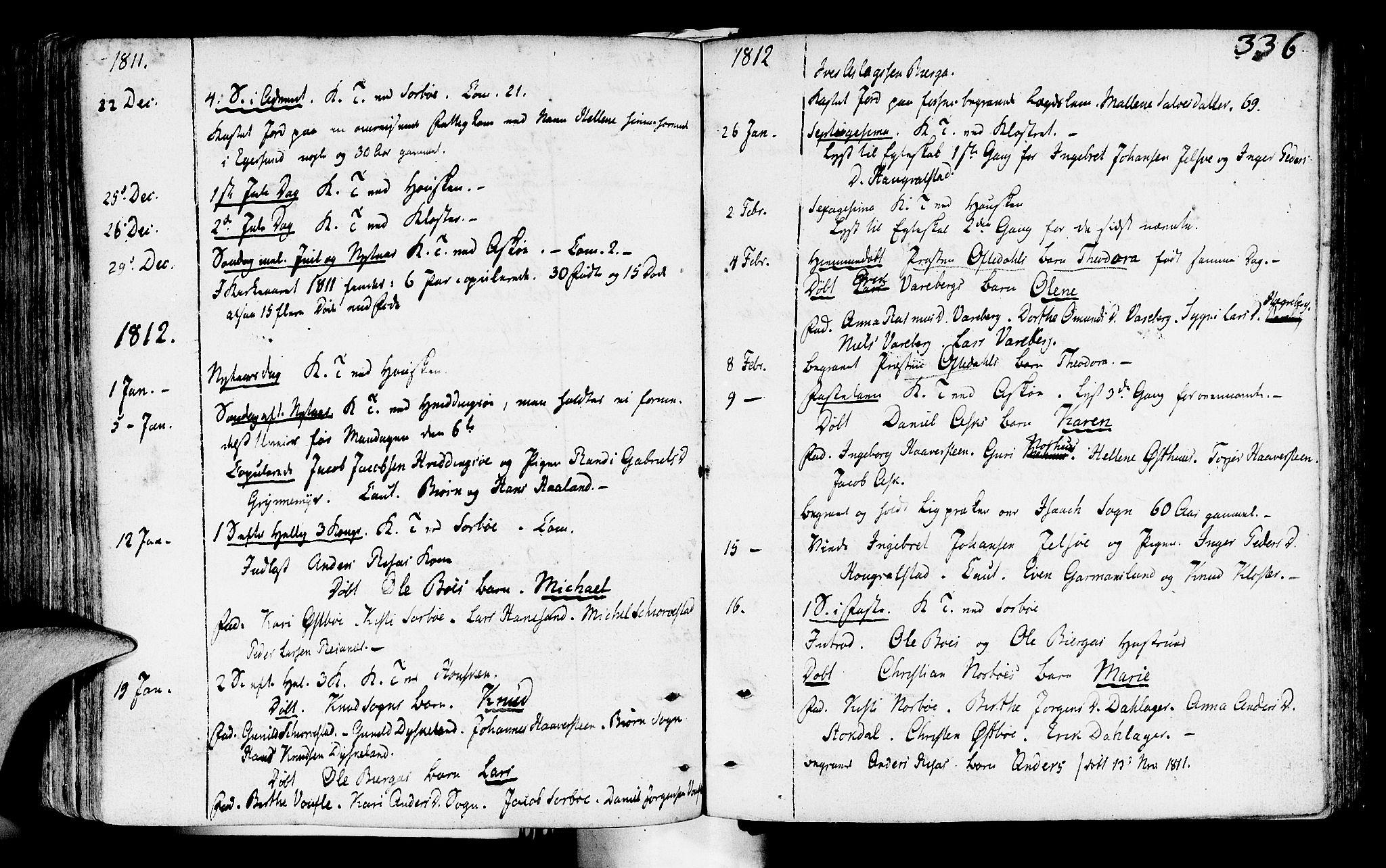 SAST, Rennesøy sokneprestkontor, H/Ha/Haa/L0003: Ministerialbok nr. A 3, 1772-1815, s. 336