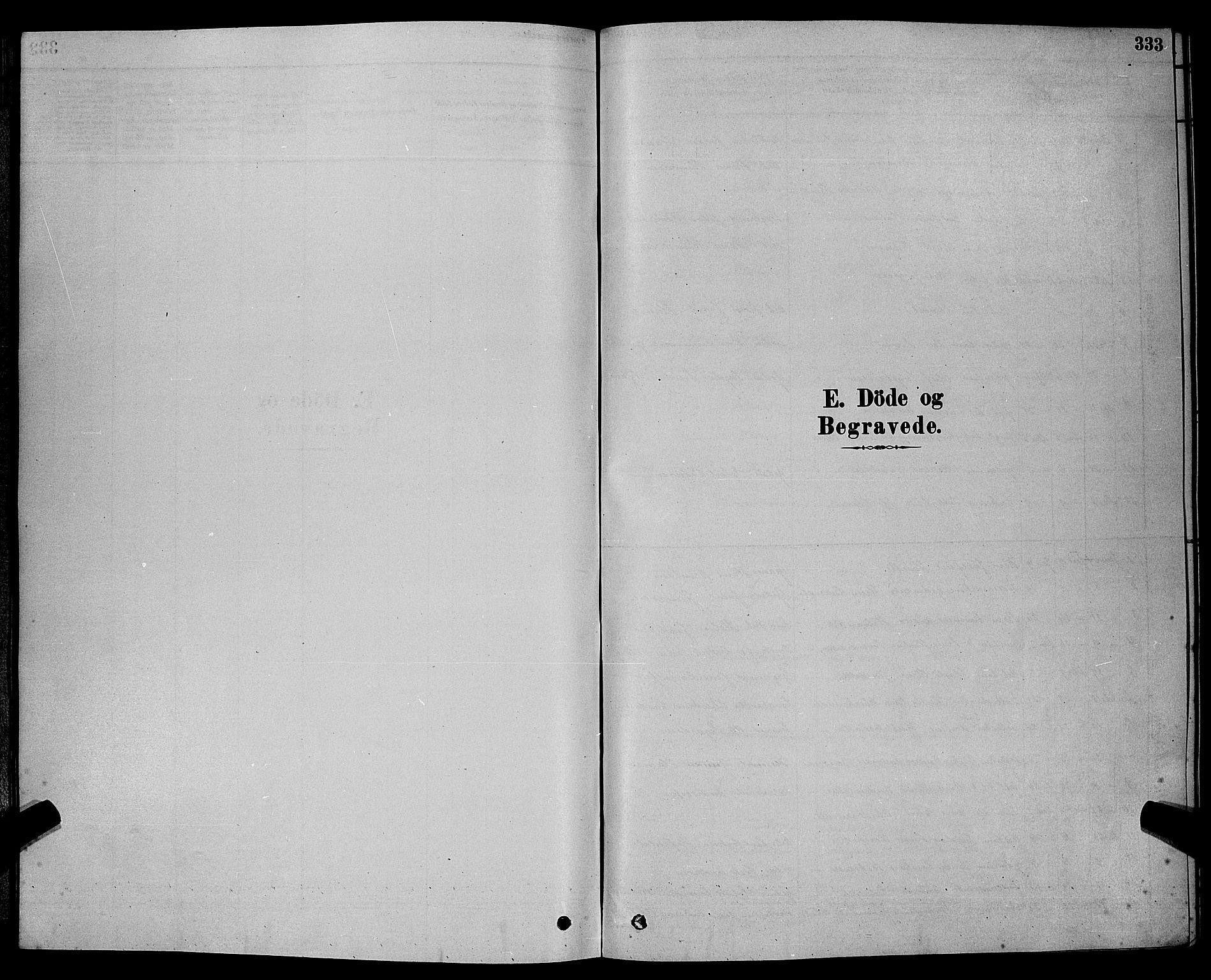 SAKO, Bamble kirkebøker, G/Ga/L0008: Klokkerbok nr. I 8, 1878-1888, s. 333