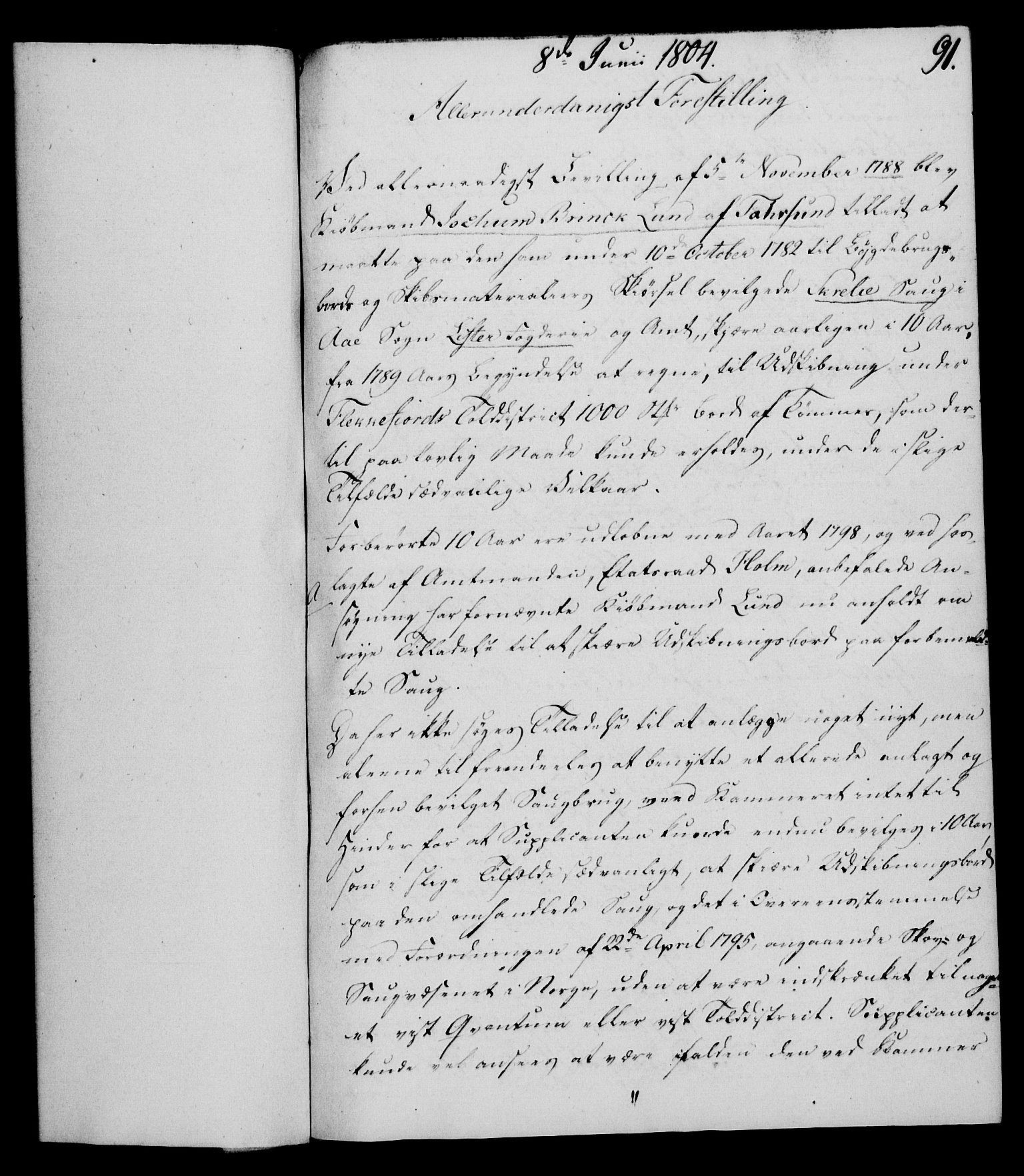 RA, Rentekammeret, Kammerkanselliet, G/Gf/Gfa/L0086: Norsk relasjons- og resolusjonsprotokoll (merket RK 52.86), 1804, s. 556