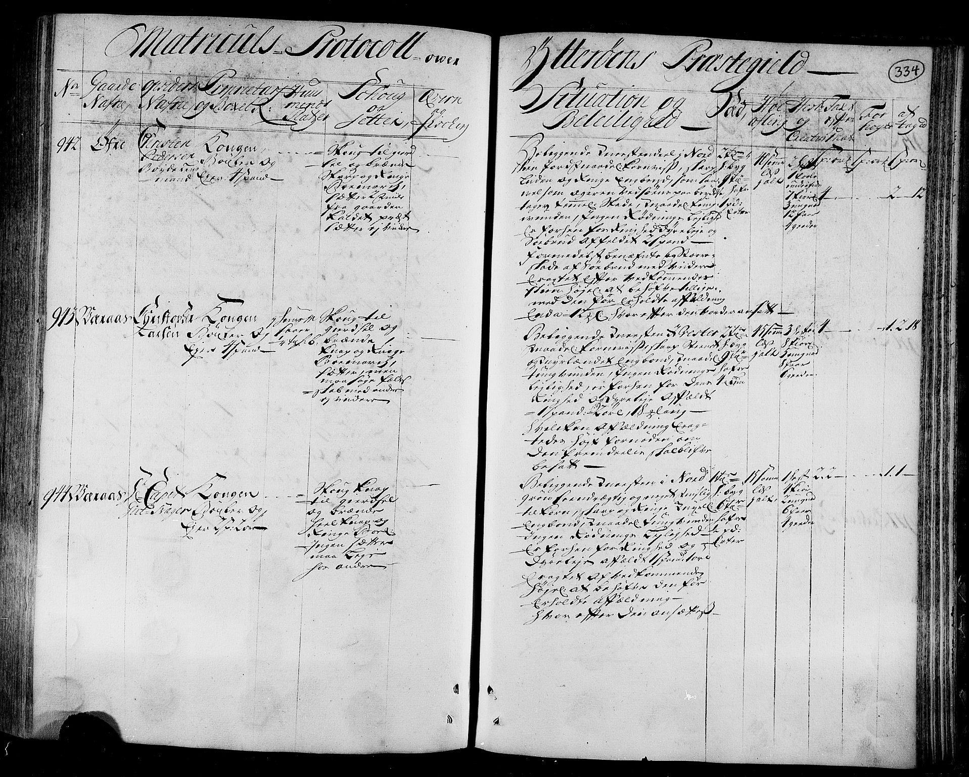 RA, Rentekammeret inntil 1814, Realistisk ordnet avdeling, N/Nb/Nbf/L0166: Inderøy eksaminasjonsprotokoll, 1723, s. 333b-334a