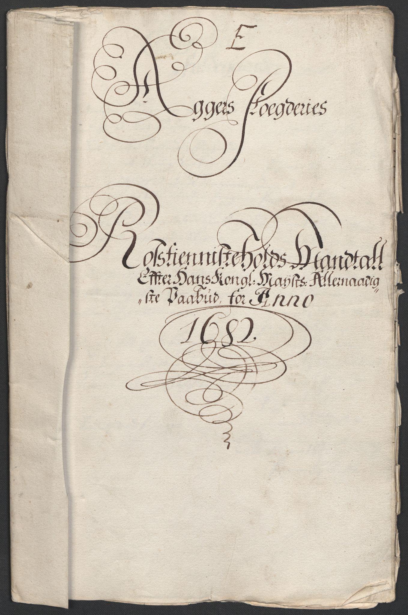RA, Rentekammeret inntil 1814, Reviderte regnskaper, Fogderegnskap, R08/L0420: Fogderegnskap Aker, 1682-1691, s. 169