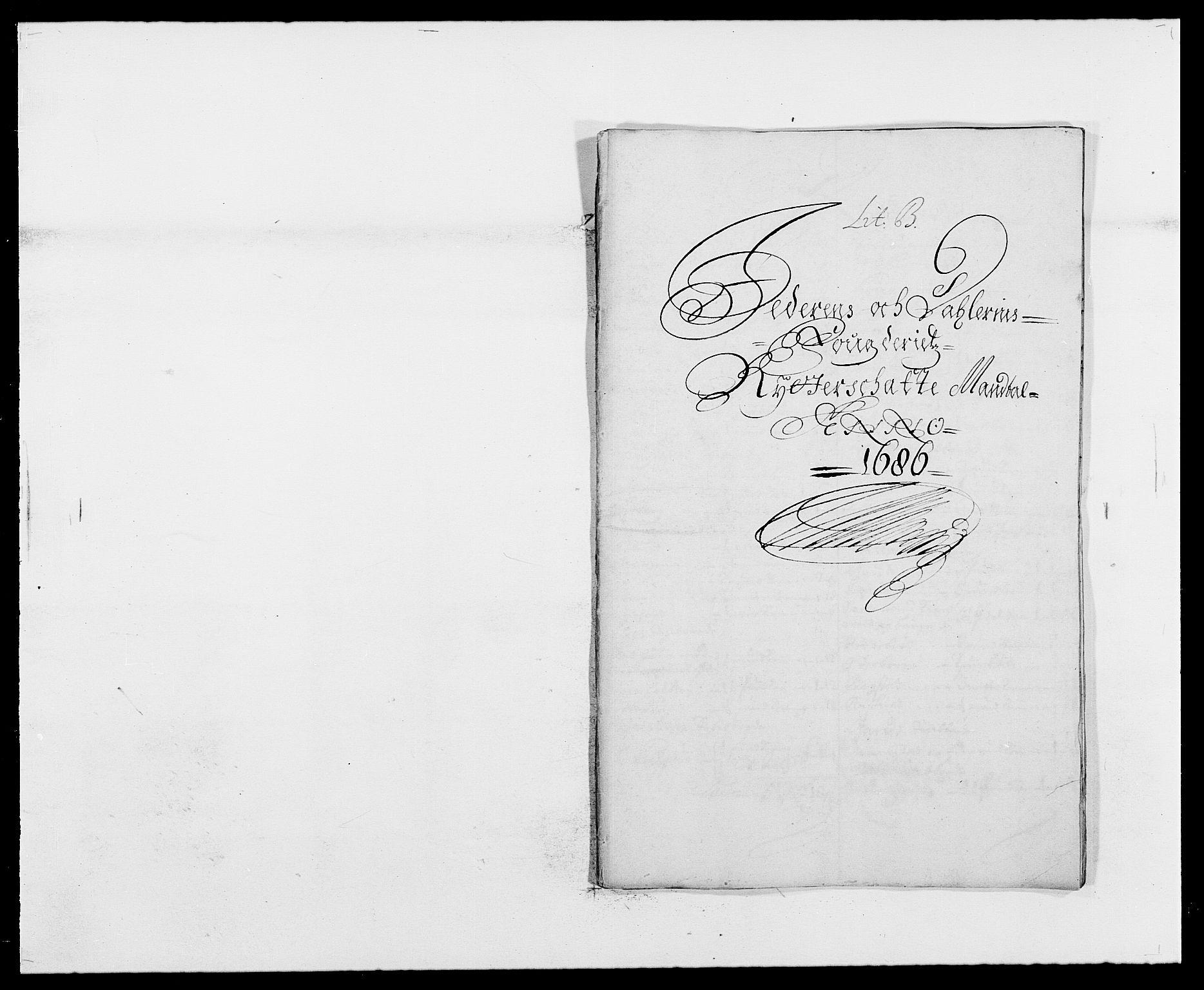 RA, Rentekammeret inntil 1814, Reviderte regnskaper, Fogderegnskap, R46/L2726: Fogderegnskap Jæren og Dalane, 1686-1689, s. 24