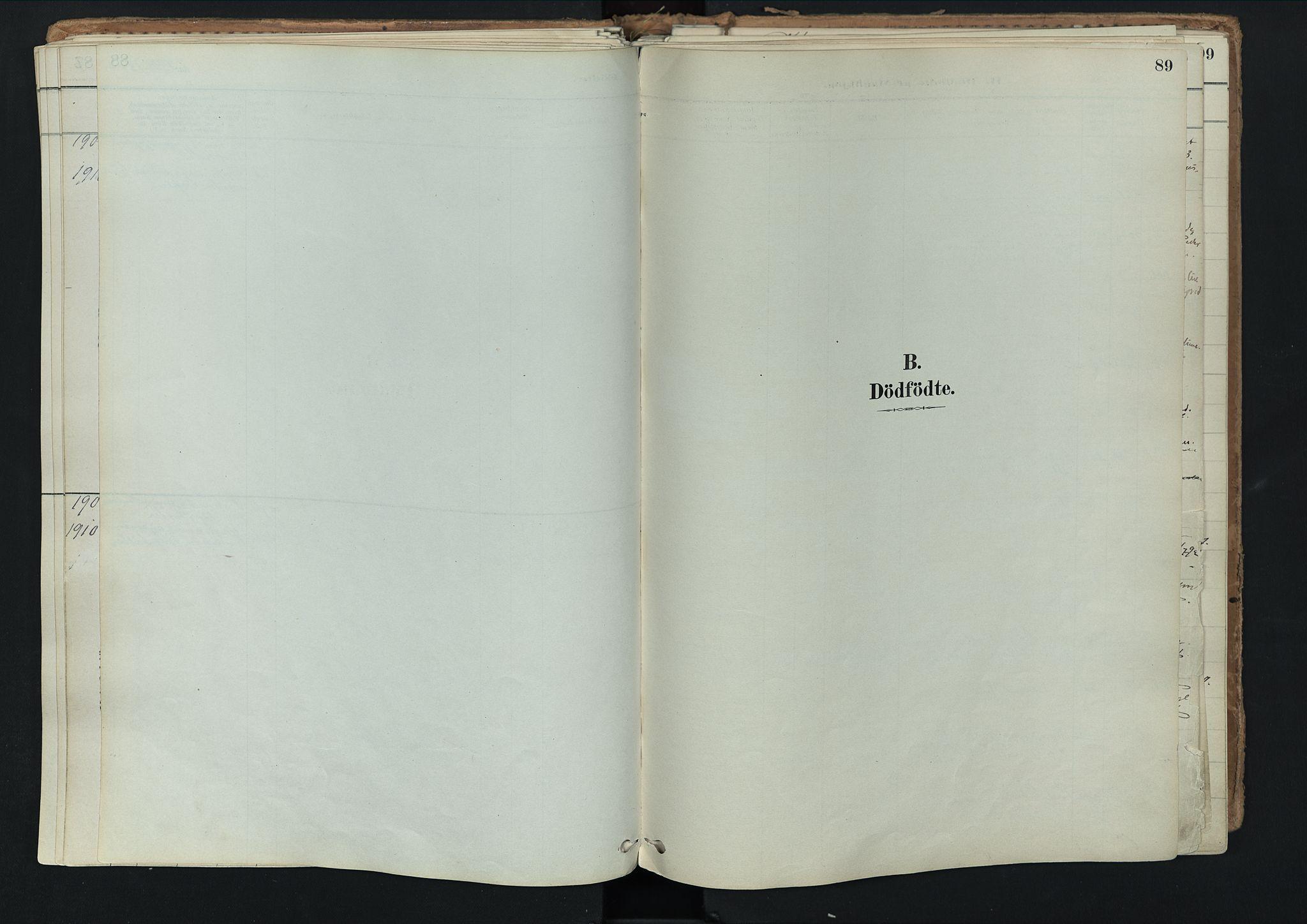 SAH, Nord-Fron prestekontor, Ministerialbok nr. 3, 1884-1914, s. 89