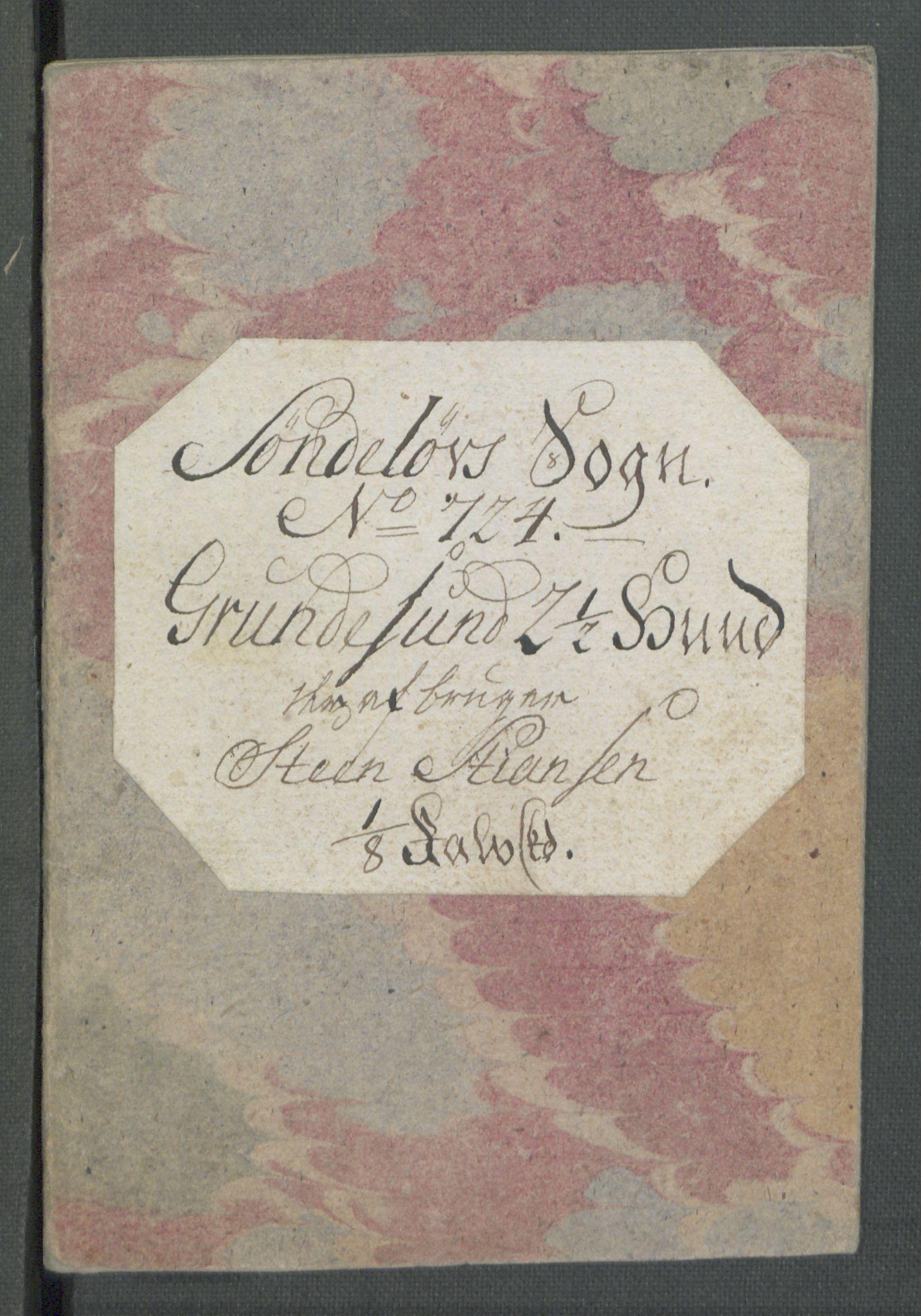 RA, Rentekammeret inntil 1814, Realistisk ordnet avdeling, Od/L0001: Oppløp, 1786-1769, s. 173
