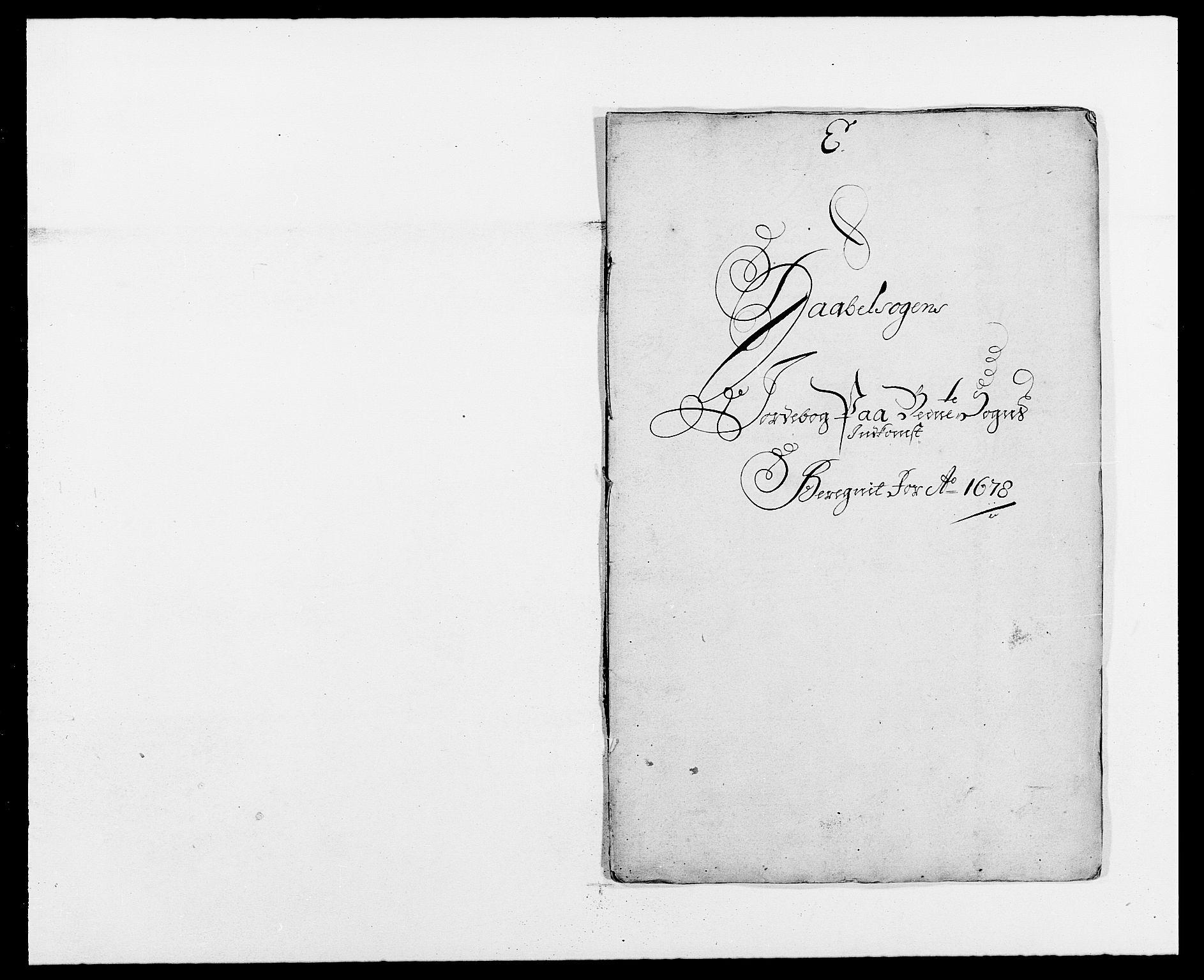 RA, Rentekammeret inntil 1814, Reviderte regnskaper, Fogderegnskap, R02/L0099: Fogderegnskap Moss og Verne kloster, 1678, s. 120