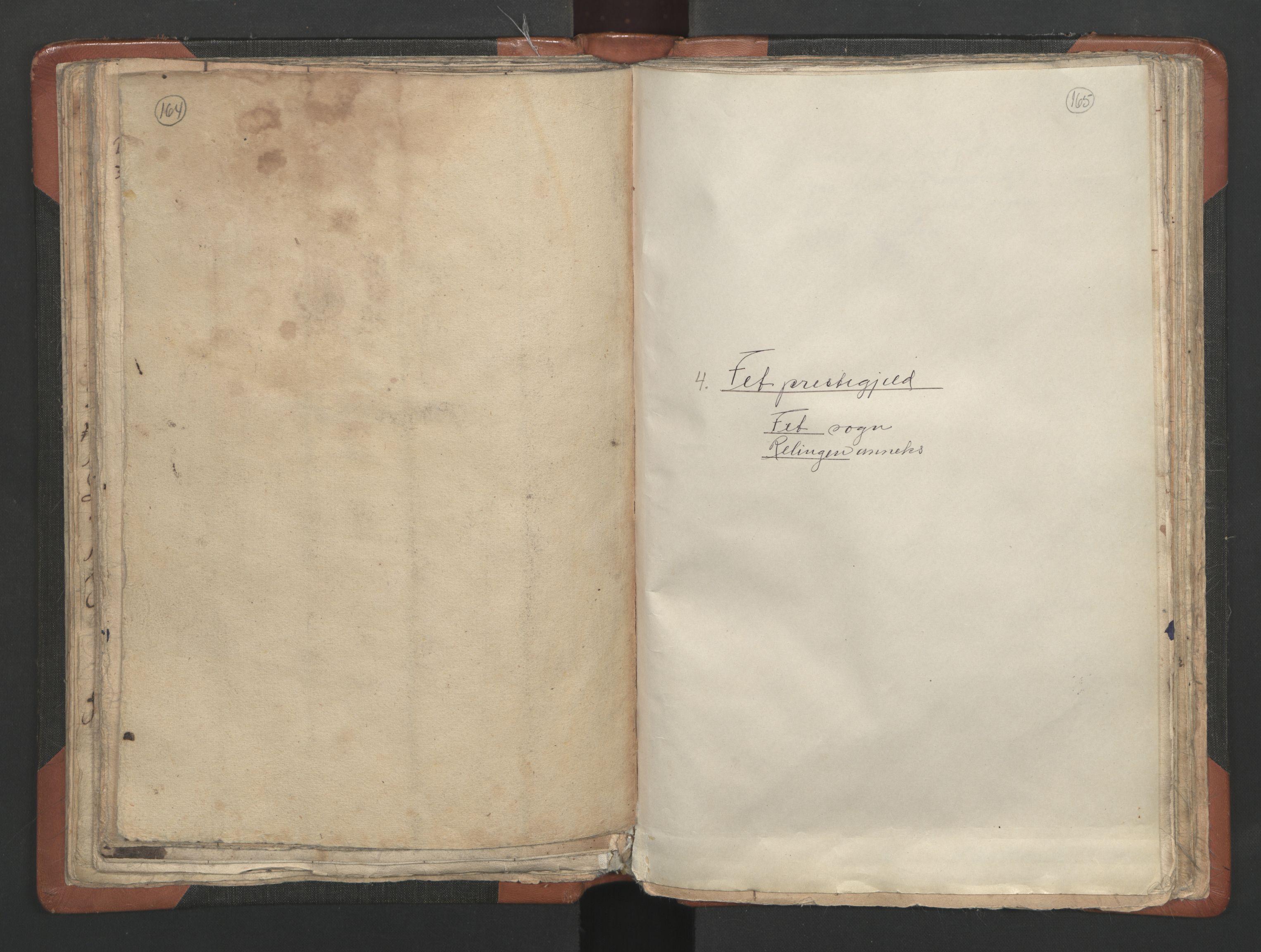 RA, Sogneprestenes manntall 1664-1666, nr. 3: Nedre Romerike prosti, 1664-1666, s. 164-165
