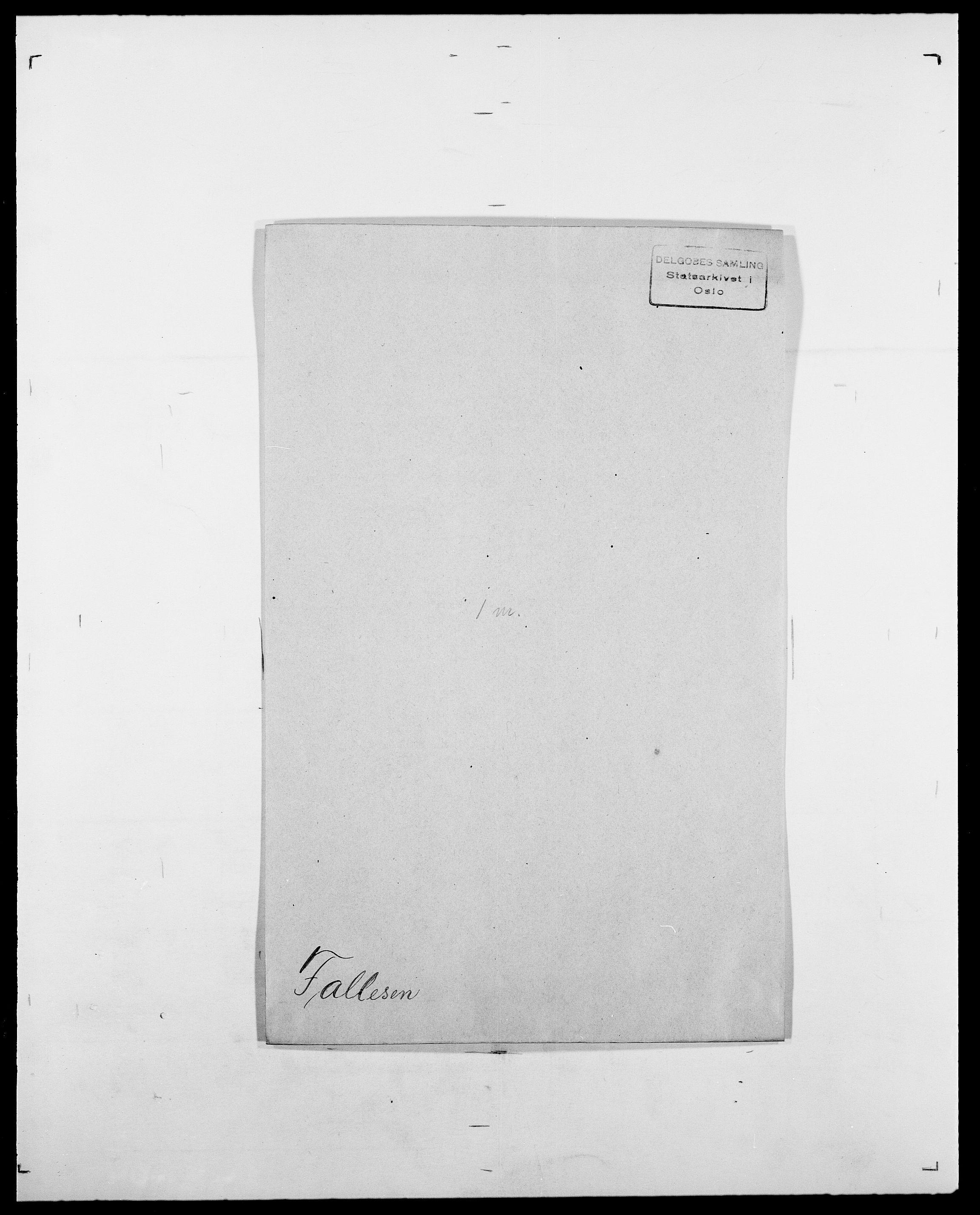 SAO, Delgobe, Charles Antoine - samling, D/Da/L0011: Fahlander - Flood, Flod, s. 141