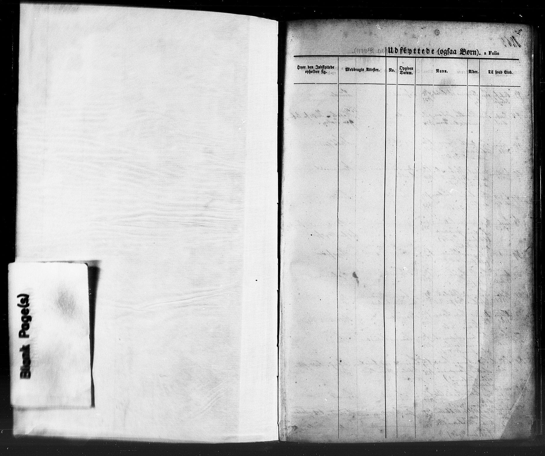 SAST, St. Petri sokneprestkontor, 30/30BA/L0006: Ministerialbok nr. A 6, 1863-1878, s. 2