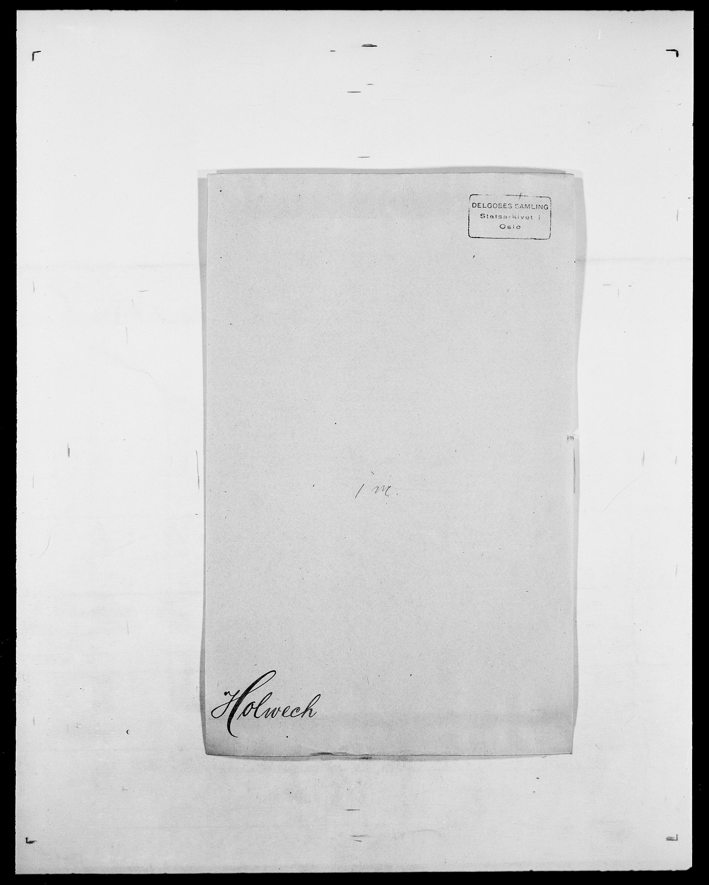 SAO, Delgobe, Charles Antoine - samling, D/Da/L0018: Hoch - Howert, s. 888