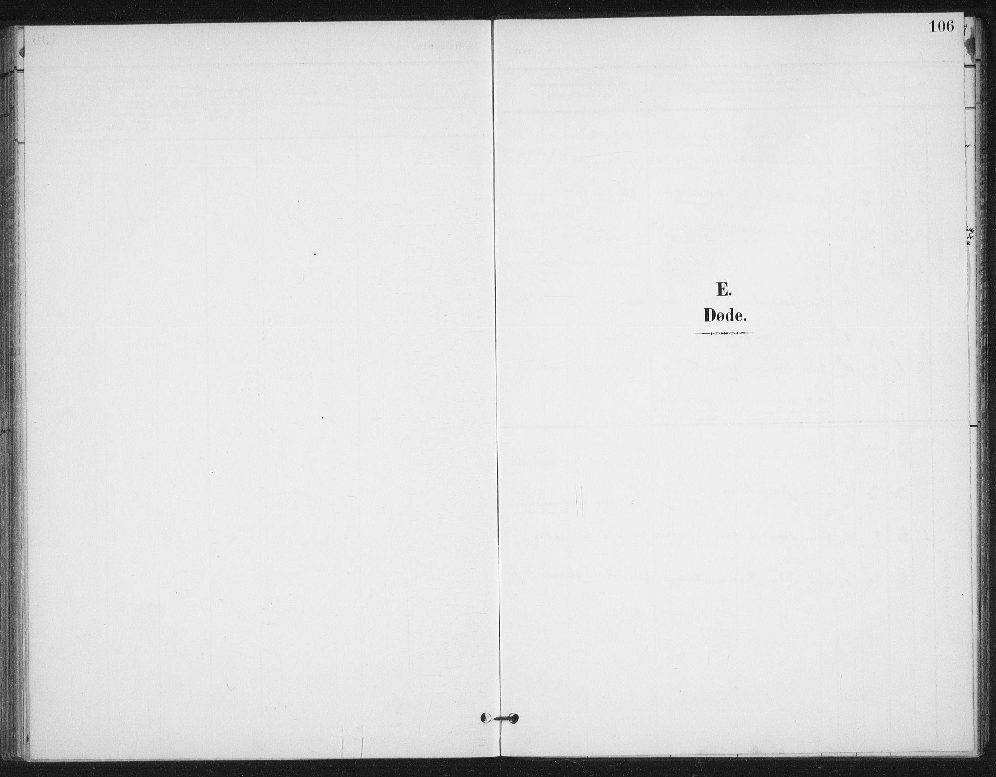 SAT, Ministerialprotokoller, klokkerbøker og fødselsregistre - Nordland, 894/L1356: Ministerialbok nr. 894A02, 1897-1914, s. 106