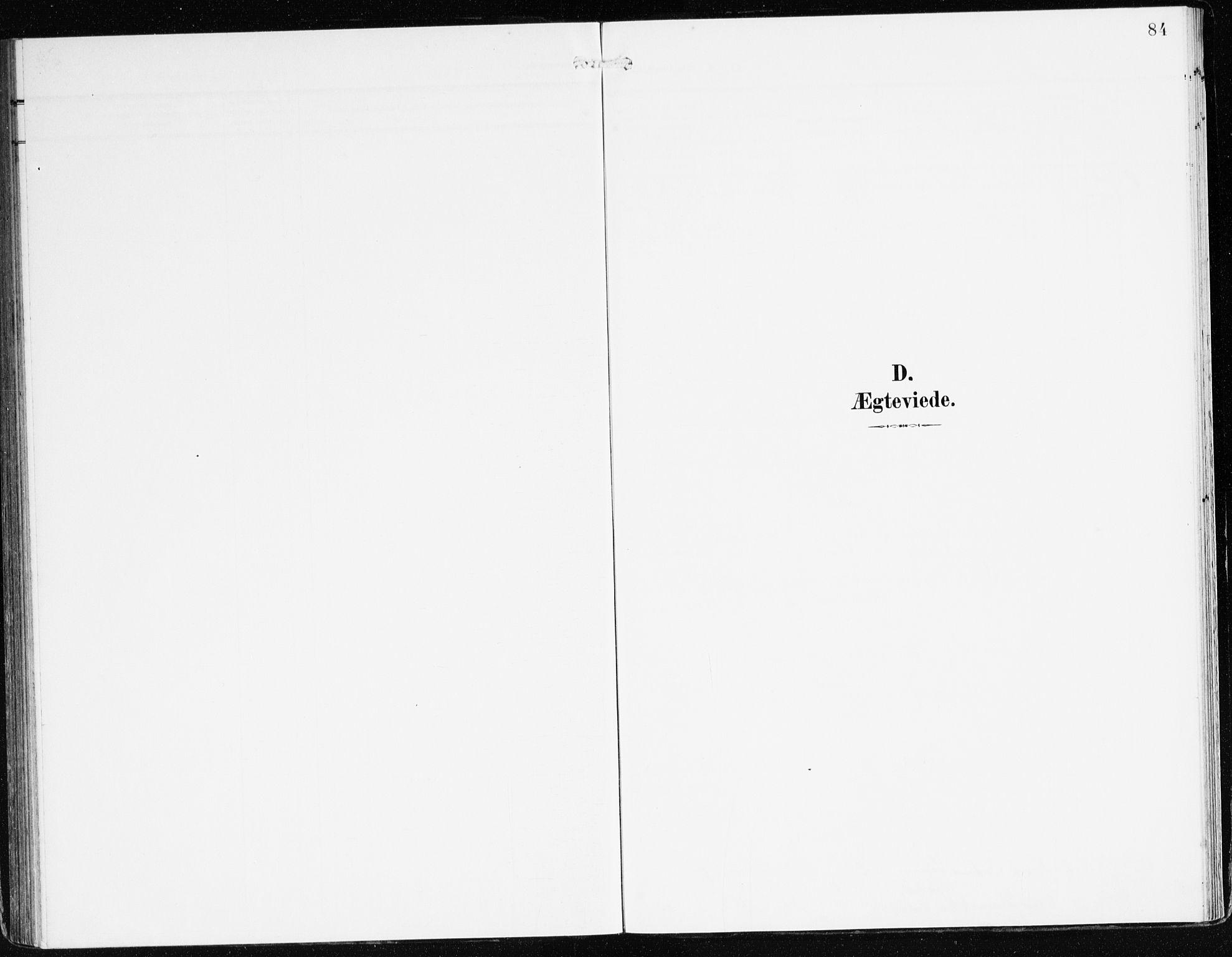 SAB, Bremanger Sokneprestembete, H/Haa: Ministerialbok nr. C 1, 1908-1921, s. 84