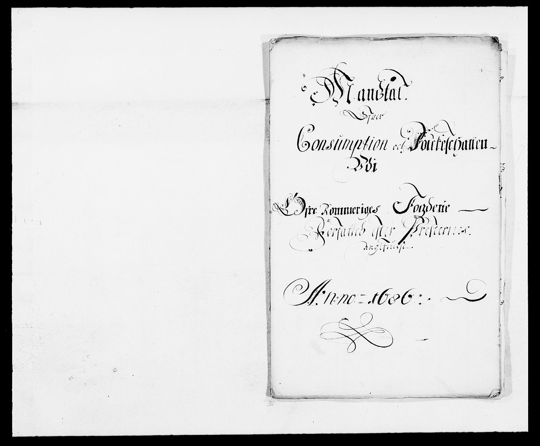 RA, Rentekammeret inntil 1814, Reviderte regnskaper, Fogderegnskap, R12/L0699: Fogderegnskap Øvre Romerike, 1685-1686, s. 297