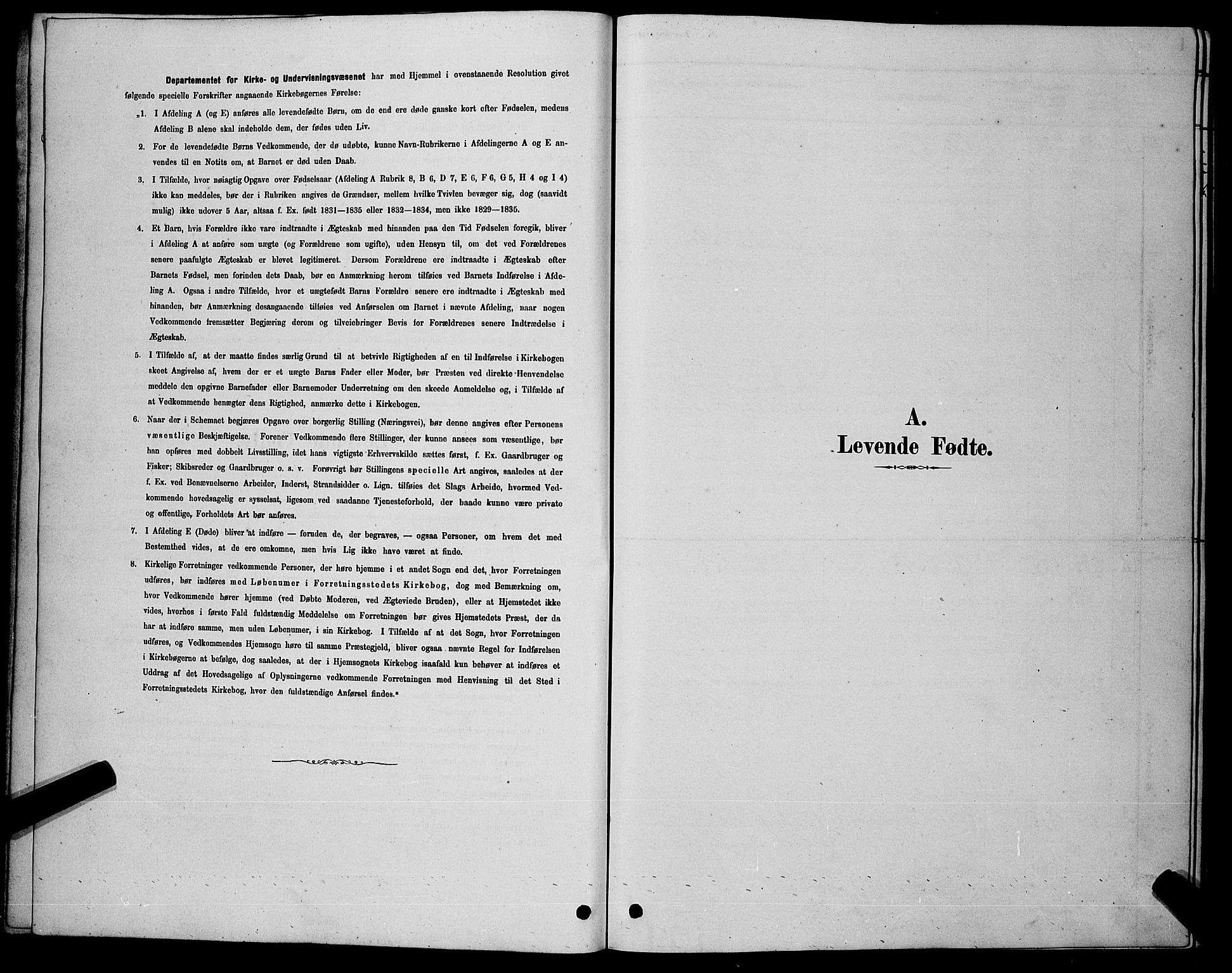 SAKO, Nore kirkebøker, G/Gb/L0002: Klokkerbok nr. II 2, 1878-1894