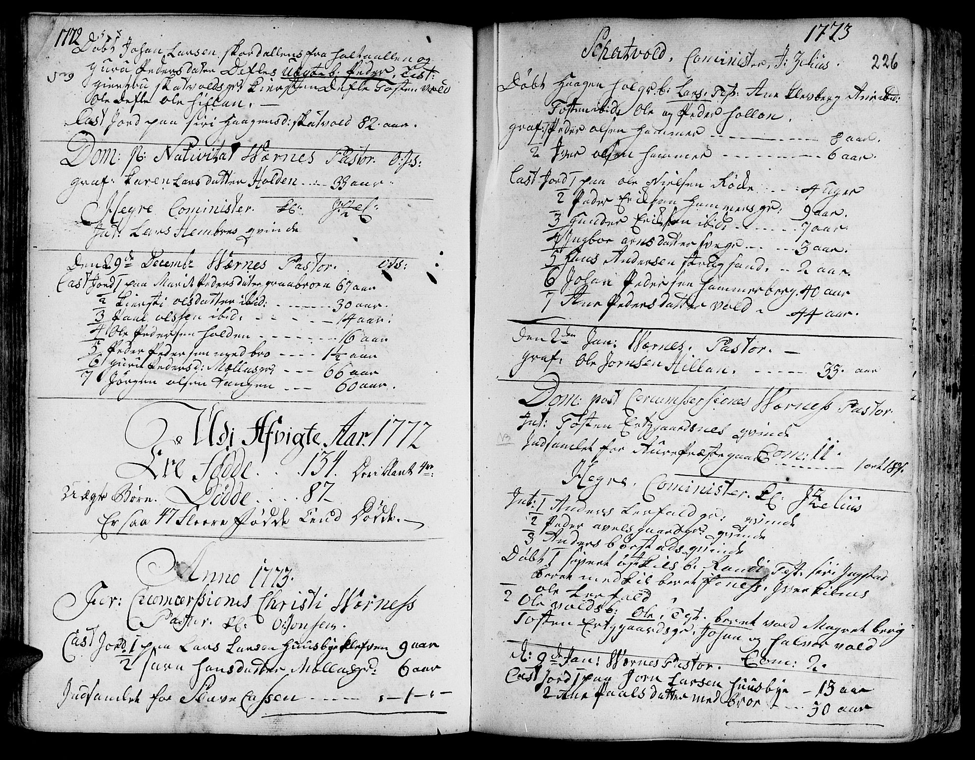 SAT, Ministerialprotokoller, klokkerbøker og fødselsregistre - Nord-Trøndelag, 709/L0057: Ministerialbok nr. 709A05, 1755-1780, s. 226