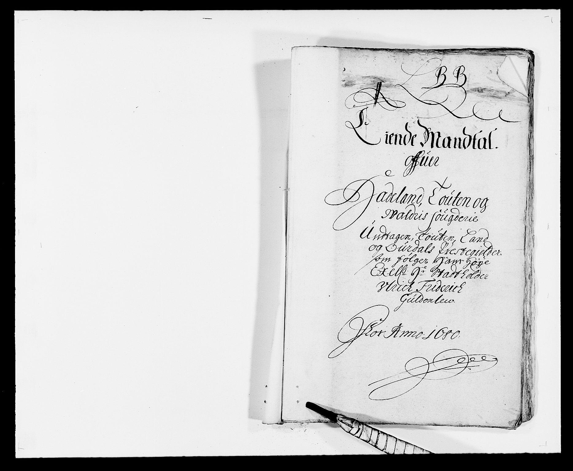 RA, Rentekammeret inntil 1814, Reviderte regnskaper, Fogderegnskap, R18/L1275: Fogderegnskap Hadeland, Toten og Valdres, 1680, s. 108