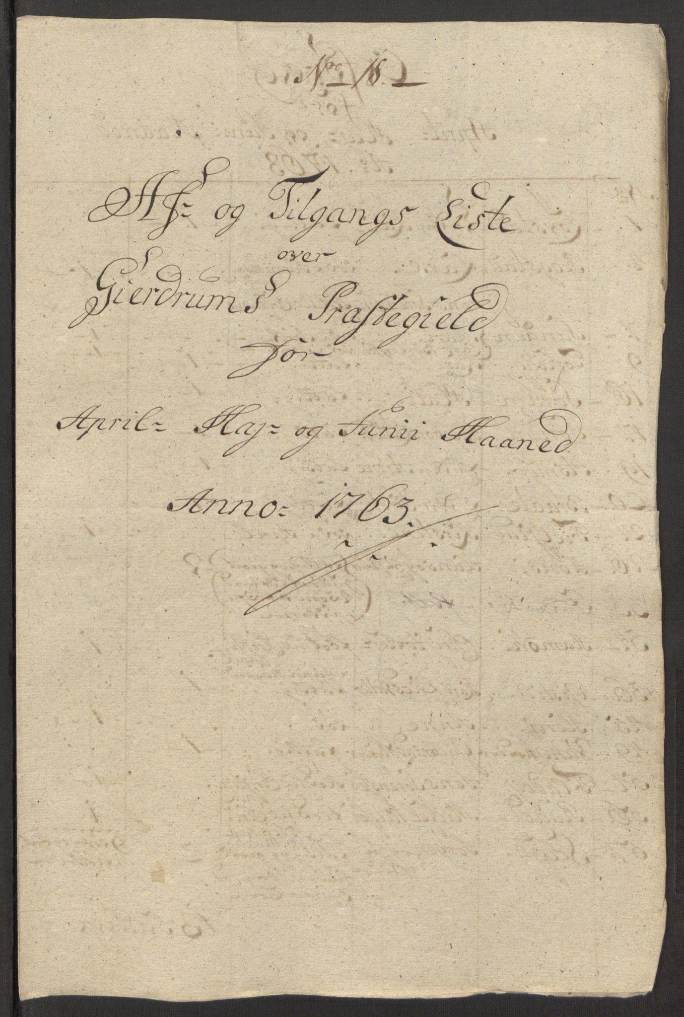 RA, Rentekammeret inntil 1814, Reviderte regnskaper, Fogderegnskap, R12/L0803: Ekstraskatten Øvre Romerike, 1763-1764, s. 93