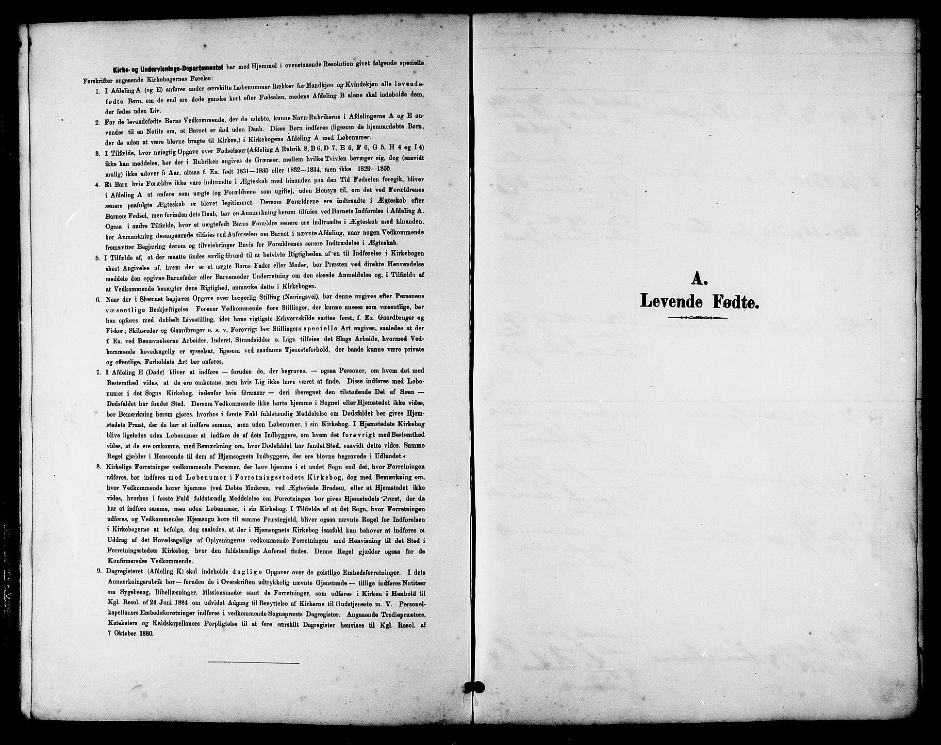 SAT, Ministerialprotokoller, klokkerbøker og fødselsregistre - Sør-Trøndelag, 657/L0716: Klokkerbok nr. 657C03, 1889-1904