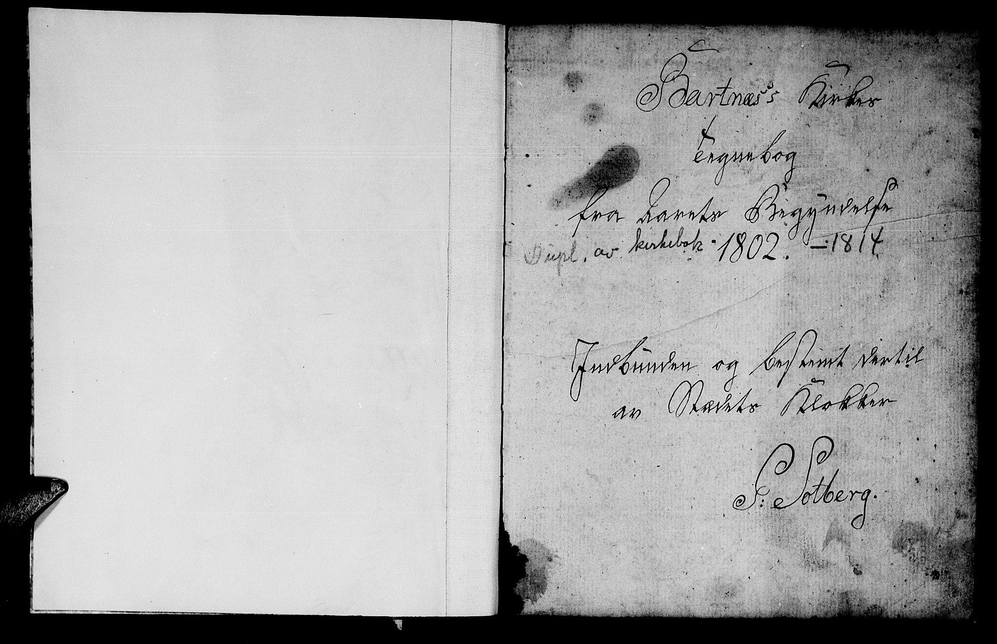 SAT, Ministerialprotokoller, klokkerbøker og fødselsregistre - Nord-Trøndelag, 745/L0432: Klokkerbok nr. 745C01, 1802-1814