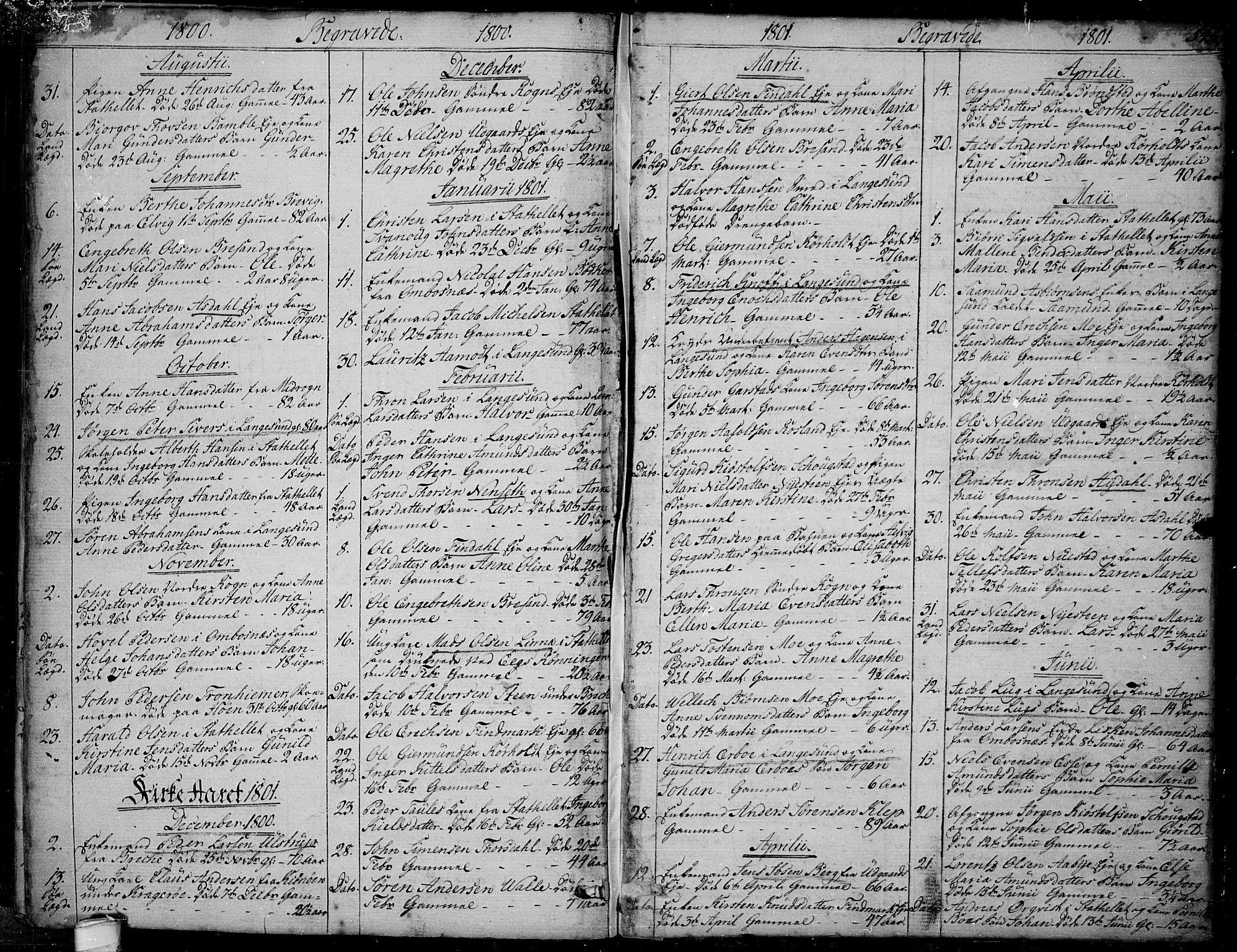 SAKO, Bamble kirkebøker, F/Fa/L0002: Ministerialbok nr. I 2, 1775-1814, s. 544-545