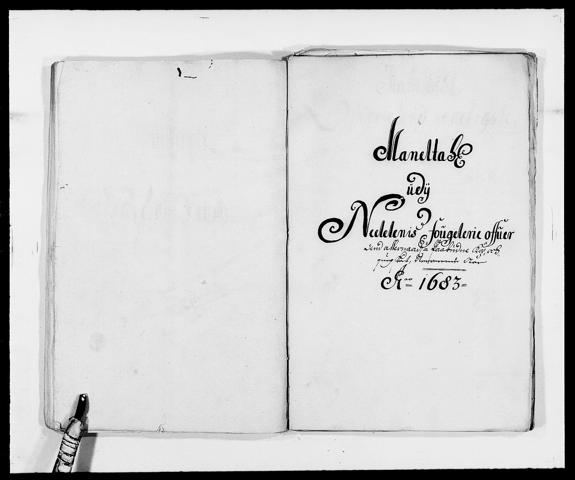 RA, Rentekammeret inntil 1814, Reviderte regnskaper, Fogderegnskap, R39/L2305: Fogderegnskap Nedenes, 1683, s. 225