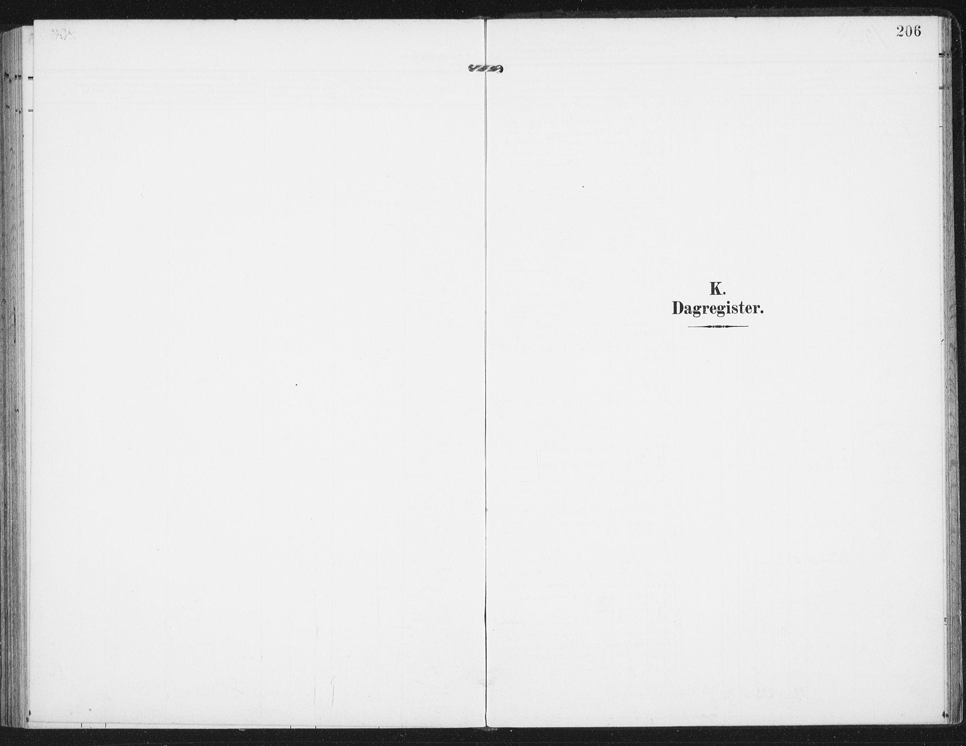 SAT, Ministerialprotokoller, klokkerbøker og fødselsregistre - Nordland, 885/L1206: Ministerialbok nr. 885A07, 1905-1915, s. 206
