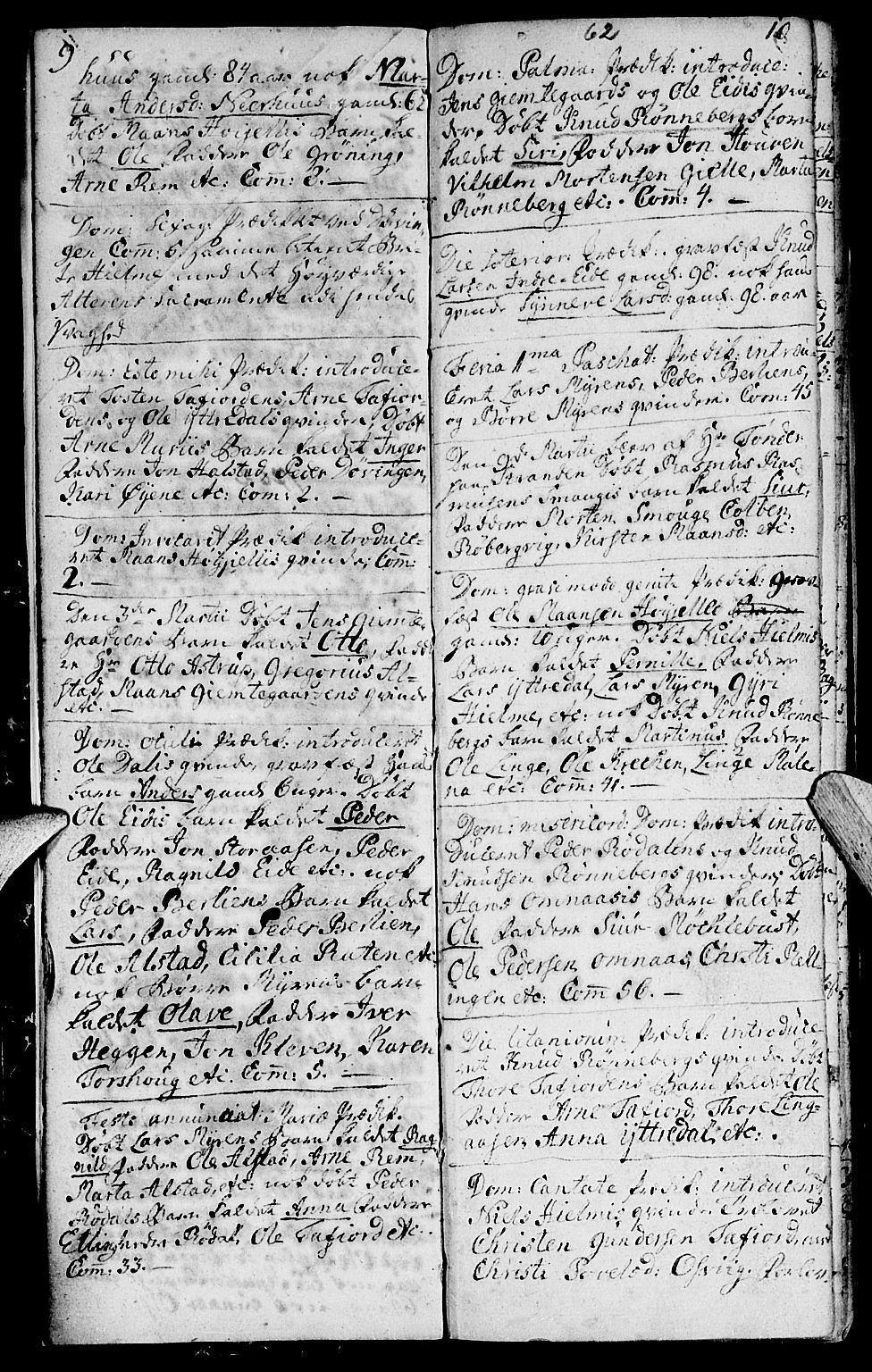 SAT, Ministerialprotokoller, klokkerbøker og fødselsregistre - Møre og Romsdal, 519/L0243: Ministerialbok nr. 519A02, 1760-1770, s. 9-10
