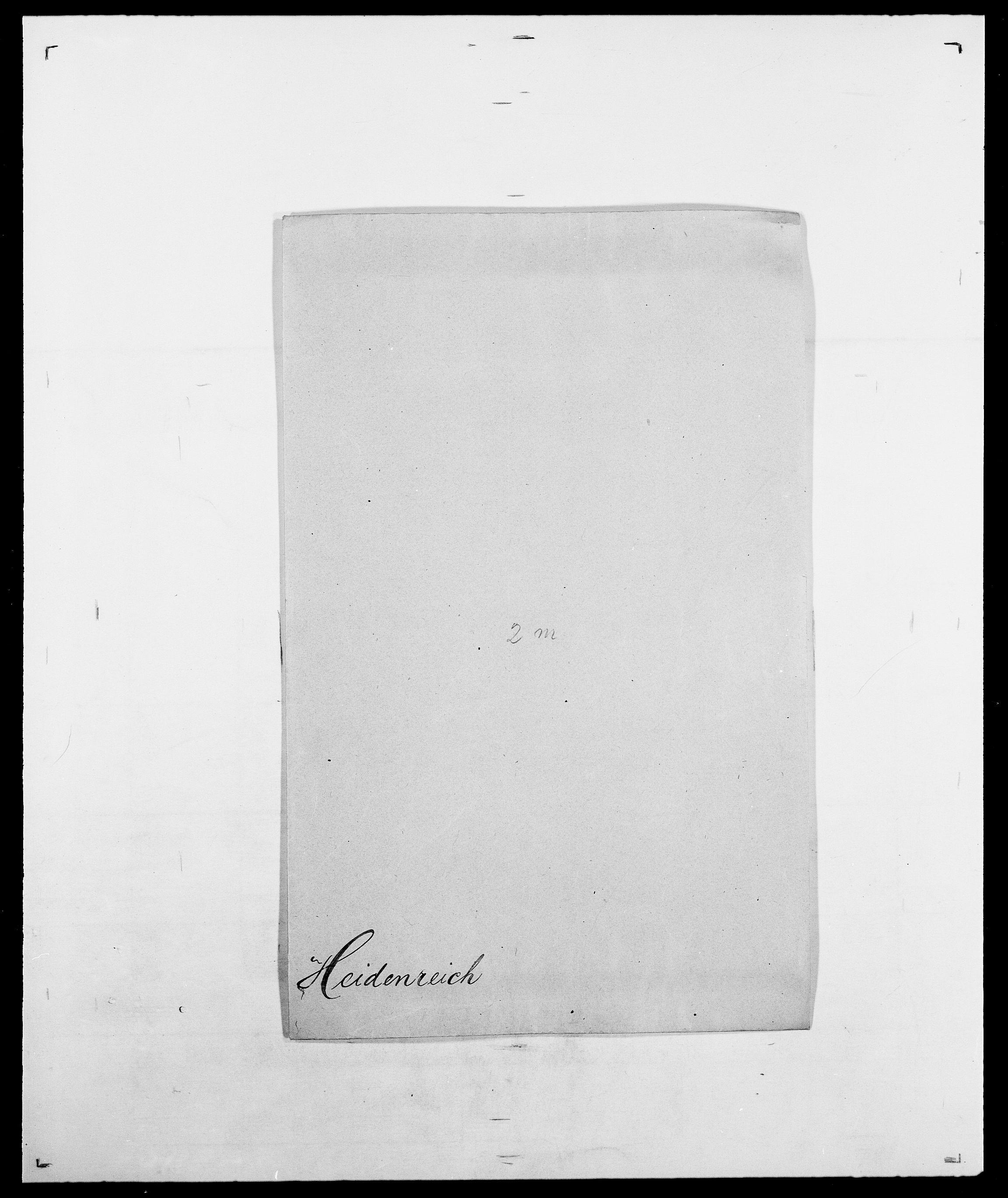 SAO, Delgobe, Charles Antoine - samling, D/Da/L0016: Hamborg - Hektoen, s. 822