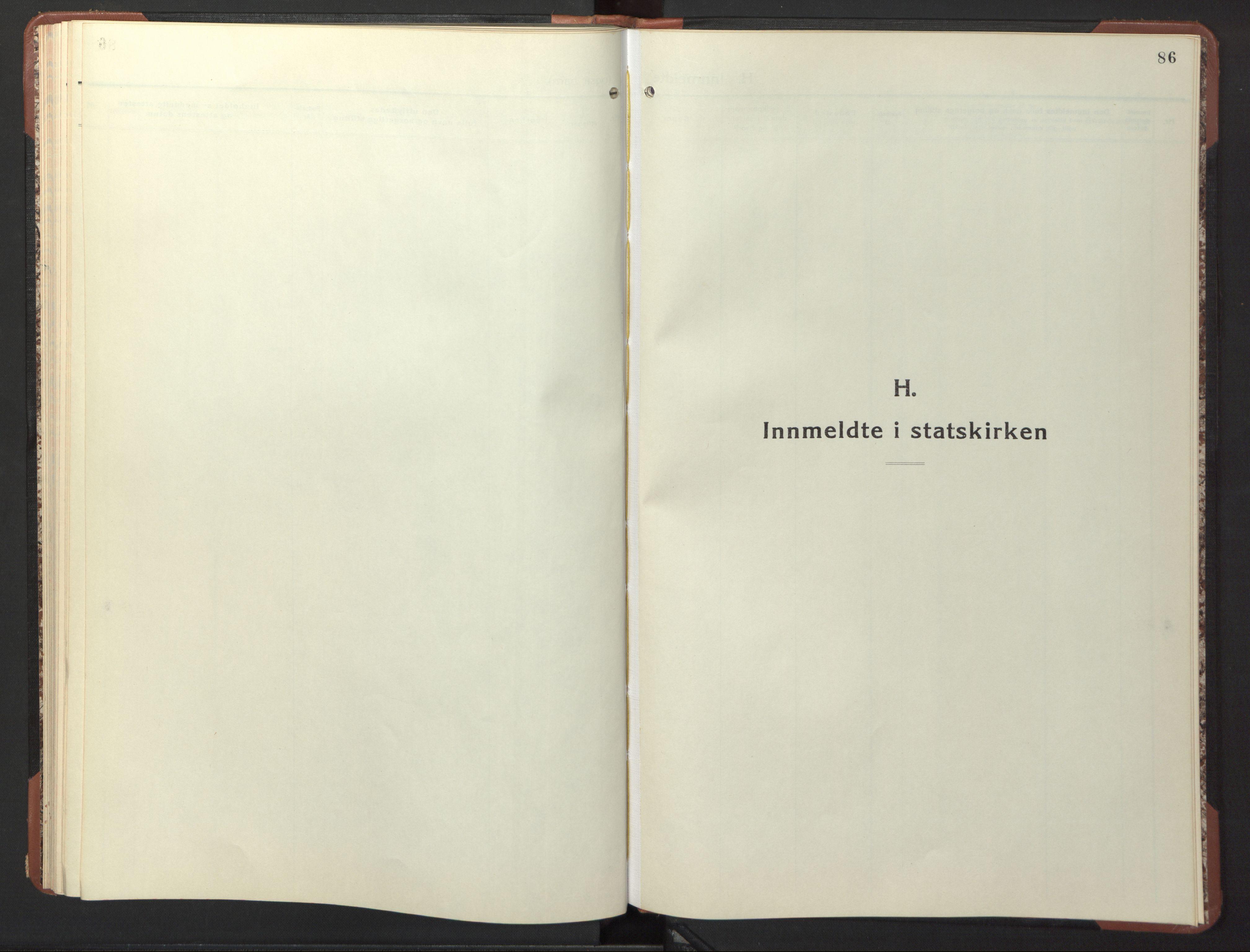 SAT, Ministerialprotokoller, klokkerbøker og fødselsregistre - Sør-Trøndelag, 617/L0433: Klokkerbok nr. 617C04, 1942-1947, s. 86