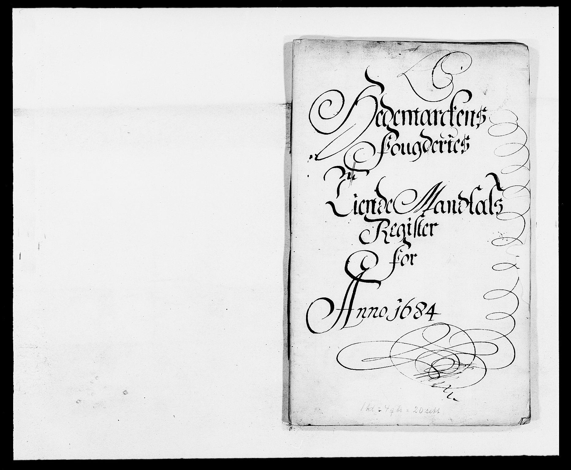 RA, Rentekammeret inntil 1814, Reviderte regnskaper, Fogderegnskap, R16/L1025: Fogderegnskap Hedmark, 1684, s. 227