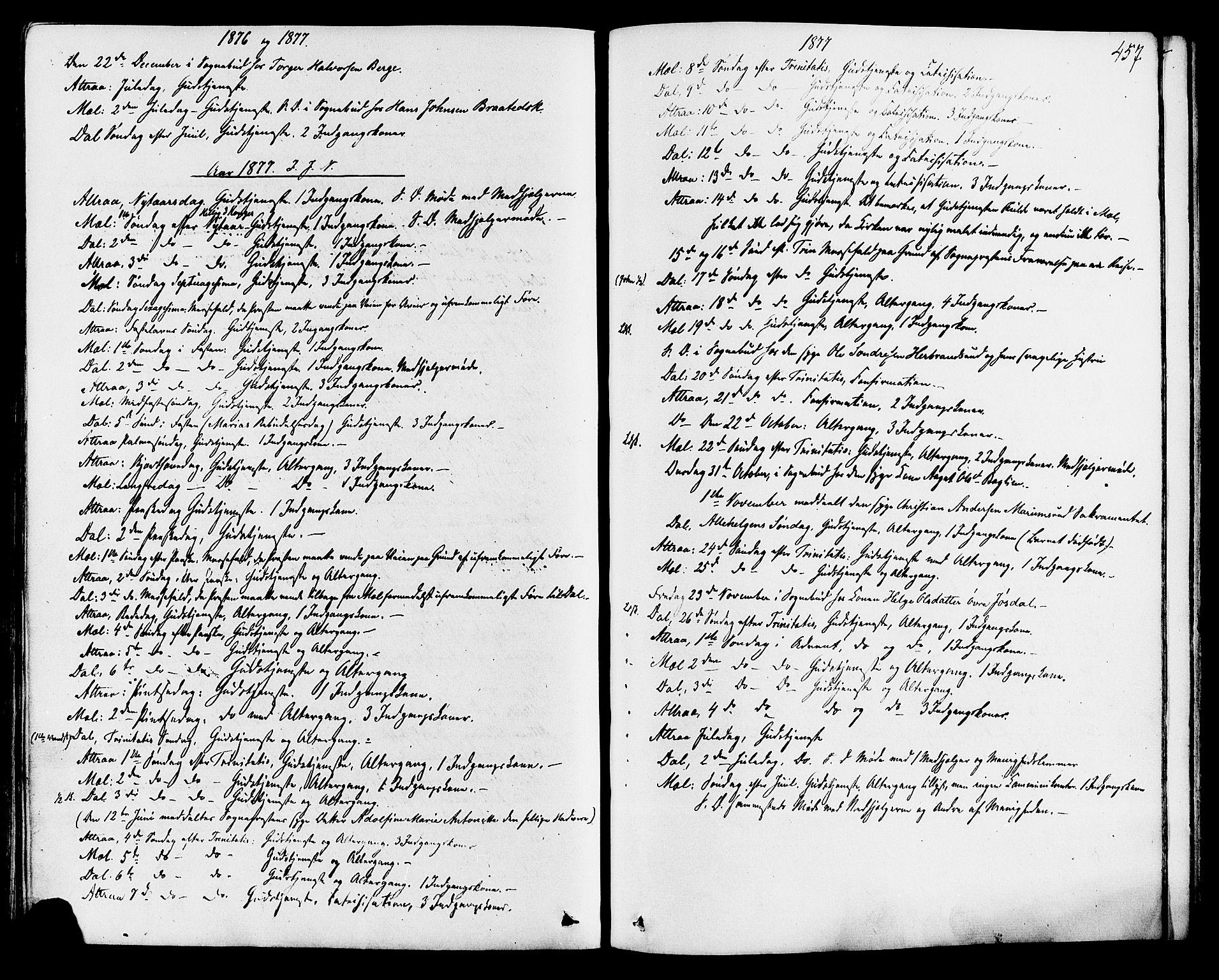 SAKO, Tinn kirkebøker, F/Fa/L0006: Ministerialbok nr. I 6, 1857-1878, s. 457