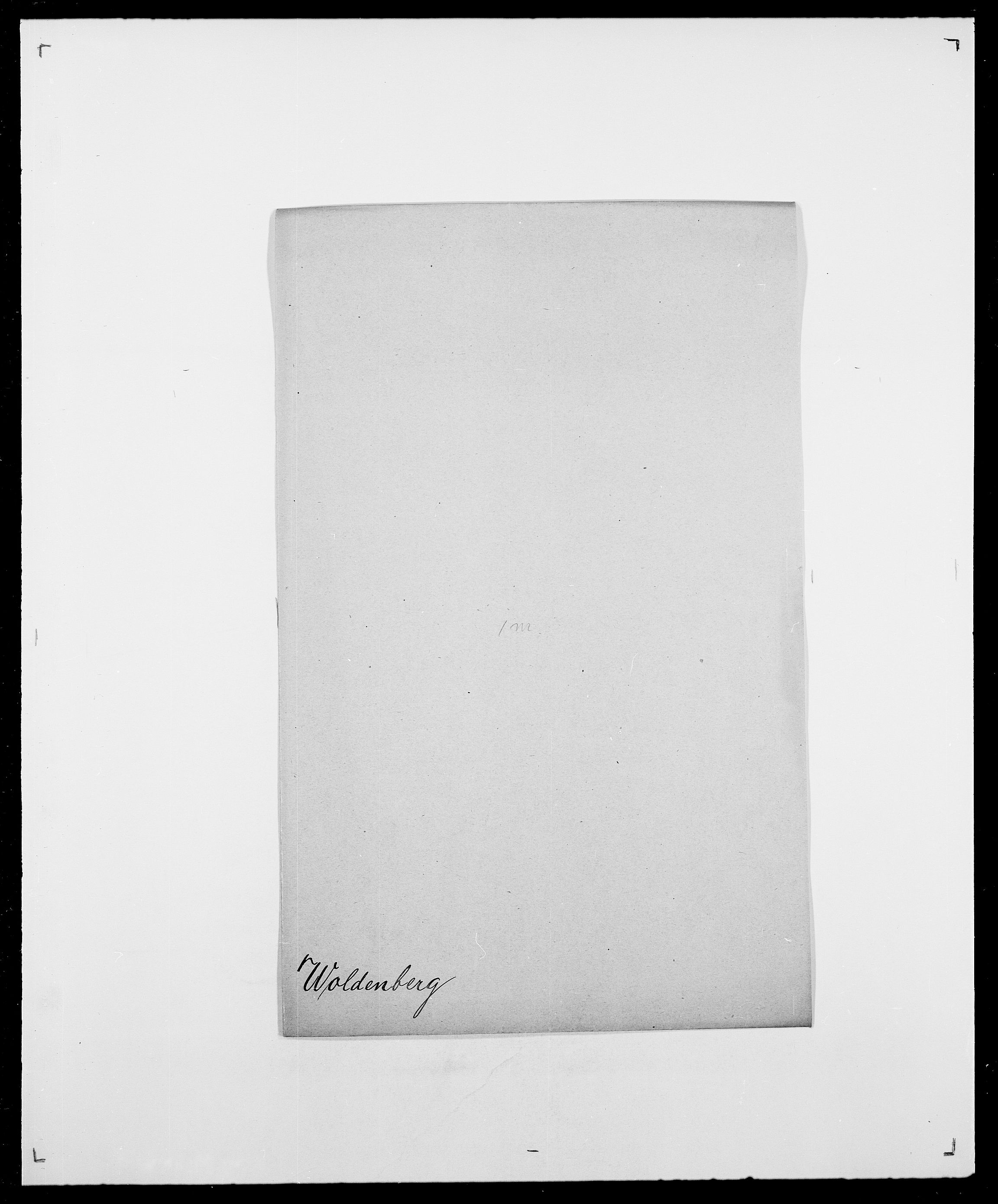 SAO, Delgobe, Charles Antoine - samling, D/Da/L0042: Vilain - Wulf, Wulff, se også Wolf, s. 616