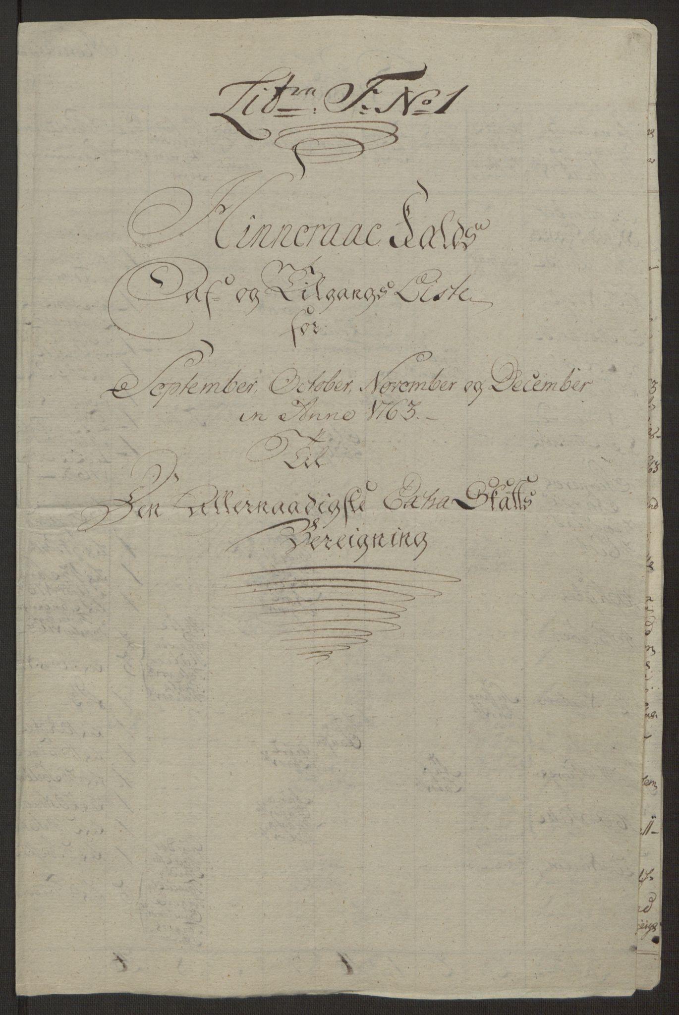 RA, Rentekammeret inntil 1814, Realistisk ordnet avdeling, Ol/L0016a: [Gg 10]: Ekstraskatten, 23.09.1762. Ryfylke, 1762-1768, s. 353