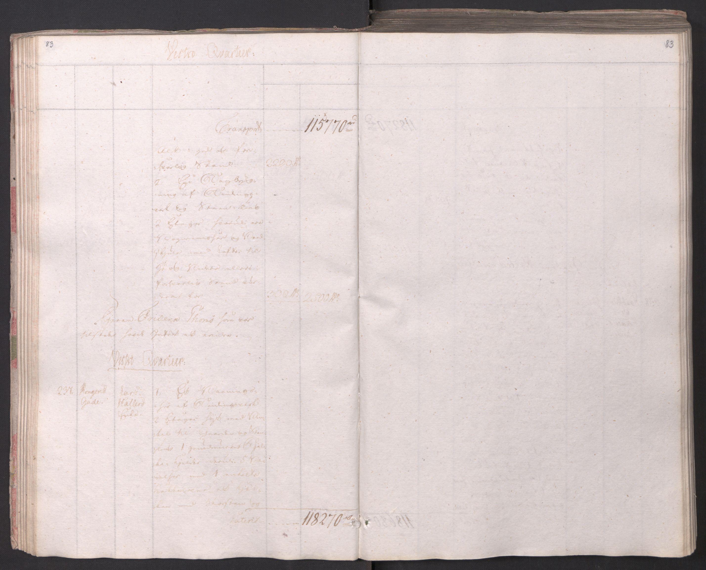 SAO, Kristiania stiftamt, I/Ia/L0015: Branntakster, 1797, s. 83