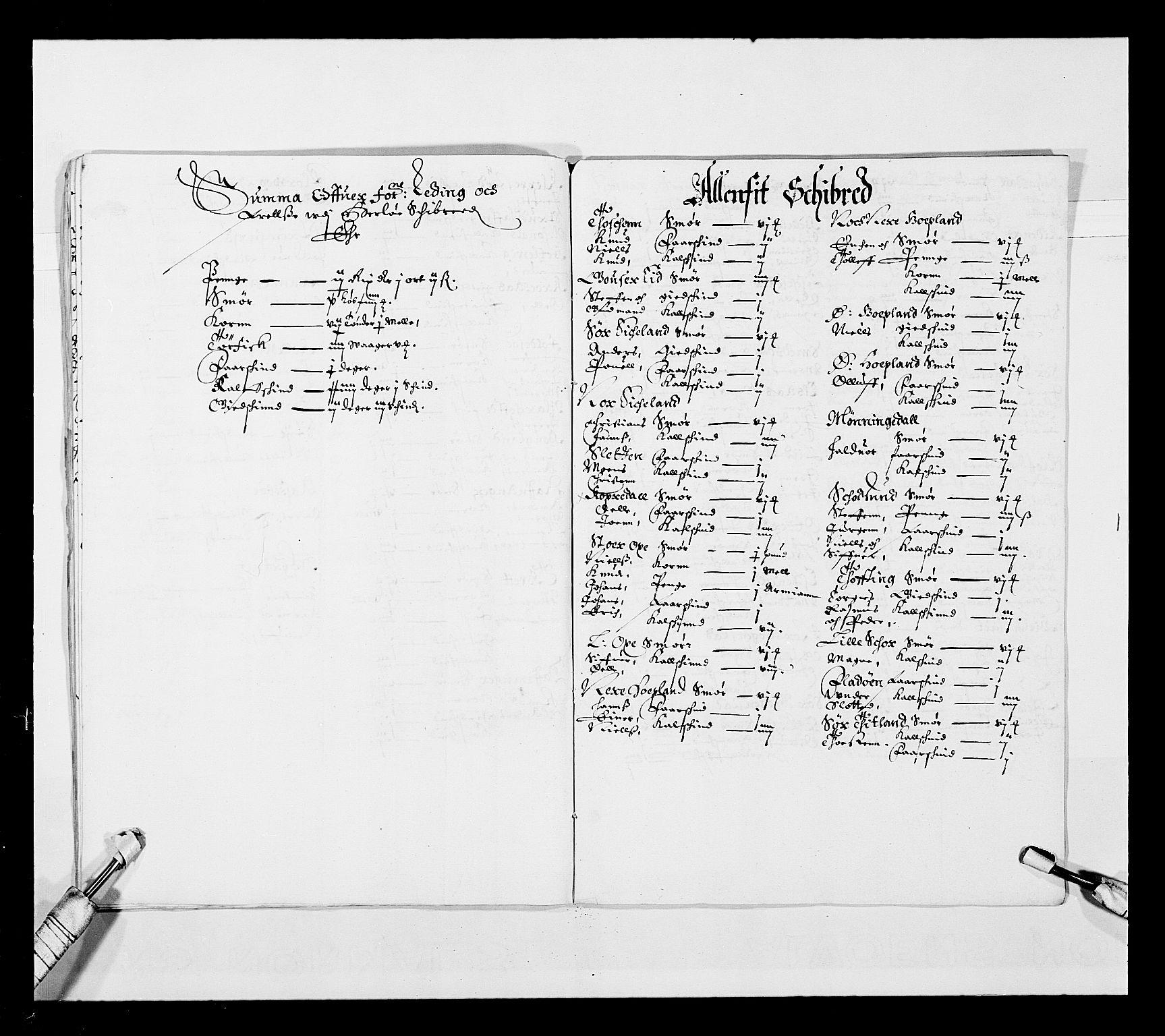 RA, Stattholderembetet 1572-1771, Ek/L0025: Jordebøker 1633-1658:, 1645-1646, s. 85