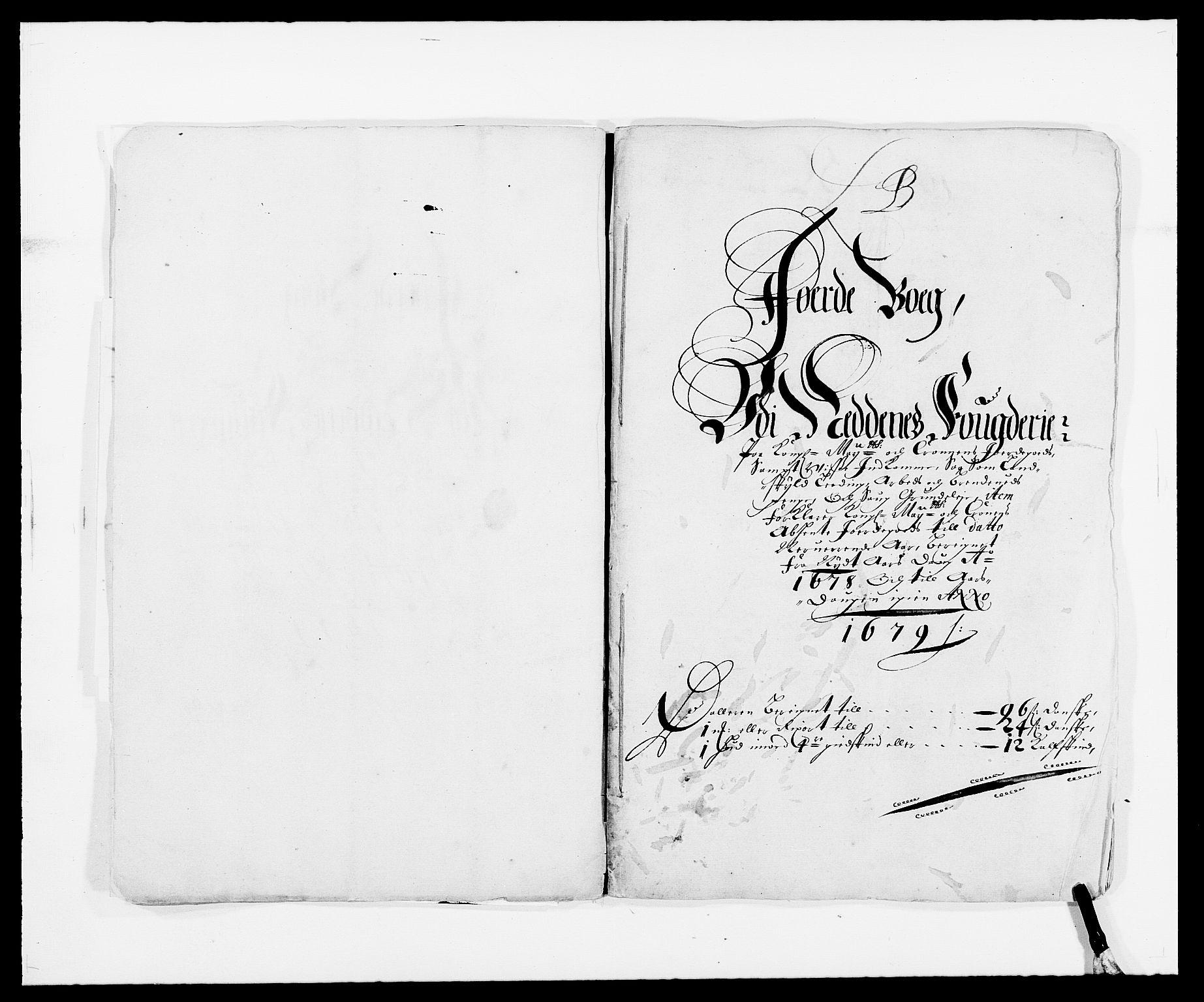 RA, Rentekammeret inntil 1814, Reviderte regnskaper, Fogderegnskap, R39/L2302: Fogderegnskap Nedenes, 1677-1678, s. 201