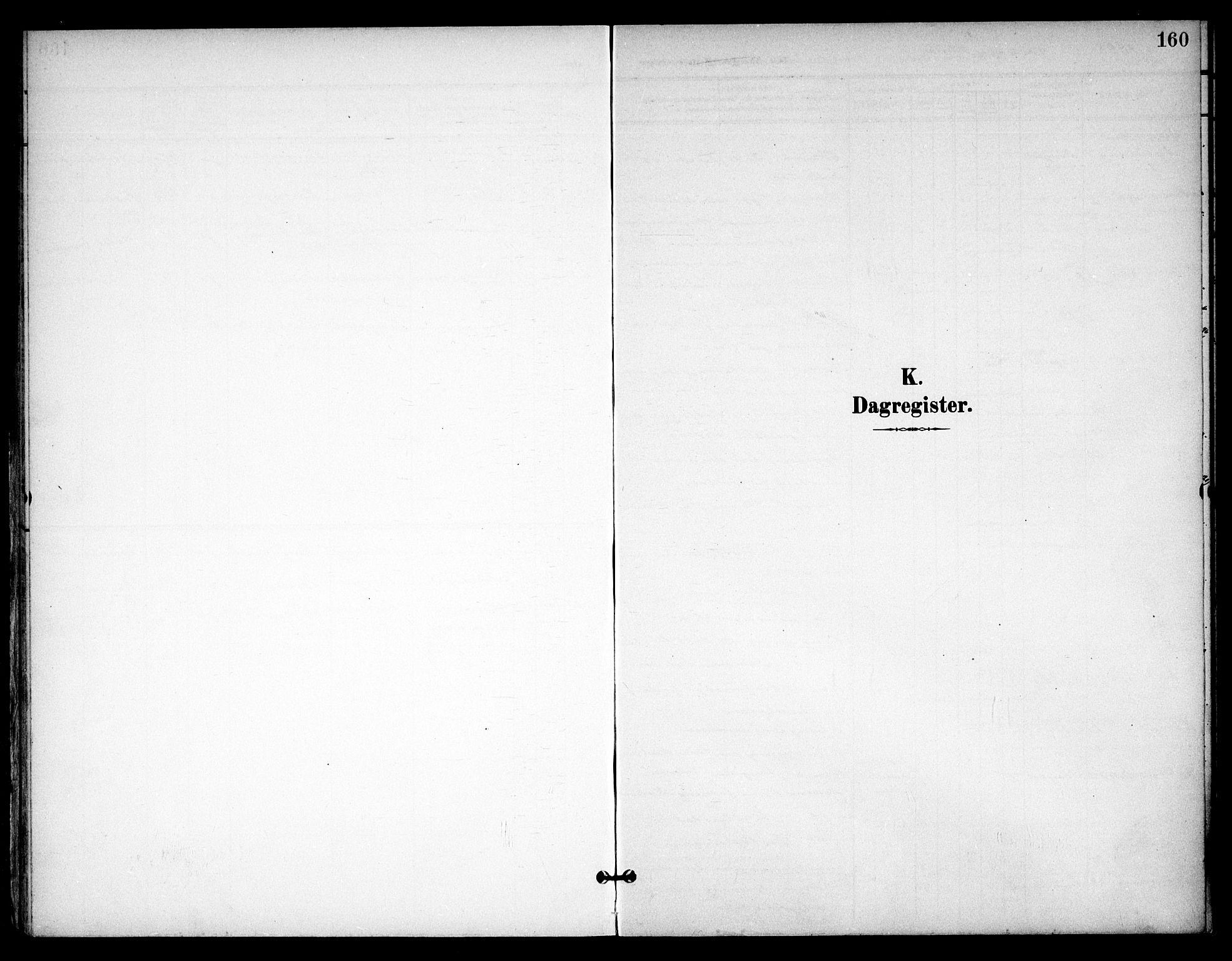 SAO, Eidsvoll prestekontor Kirkebøker, F/Fb/L0003: Ministerialbok nr. II 3, 1898-1909, s. 160