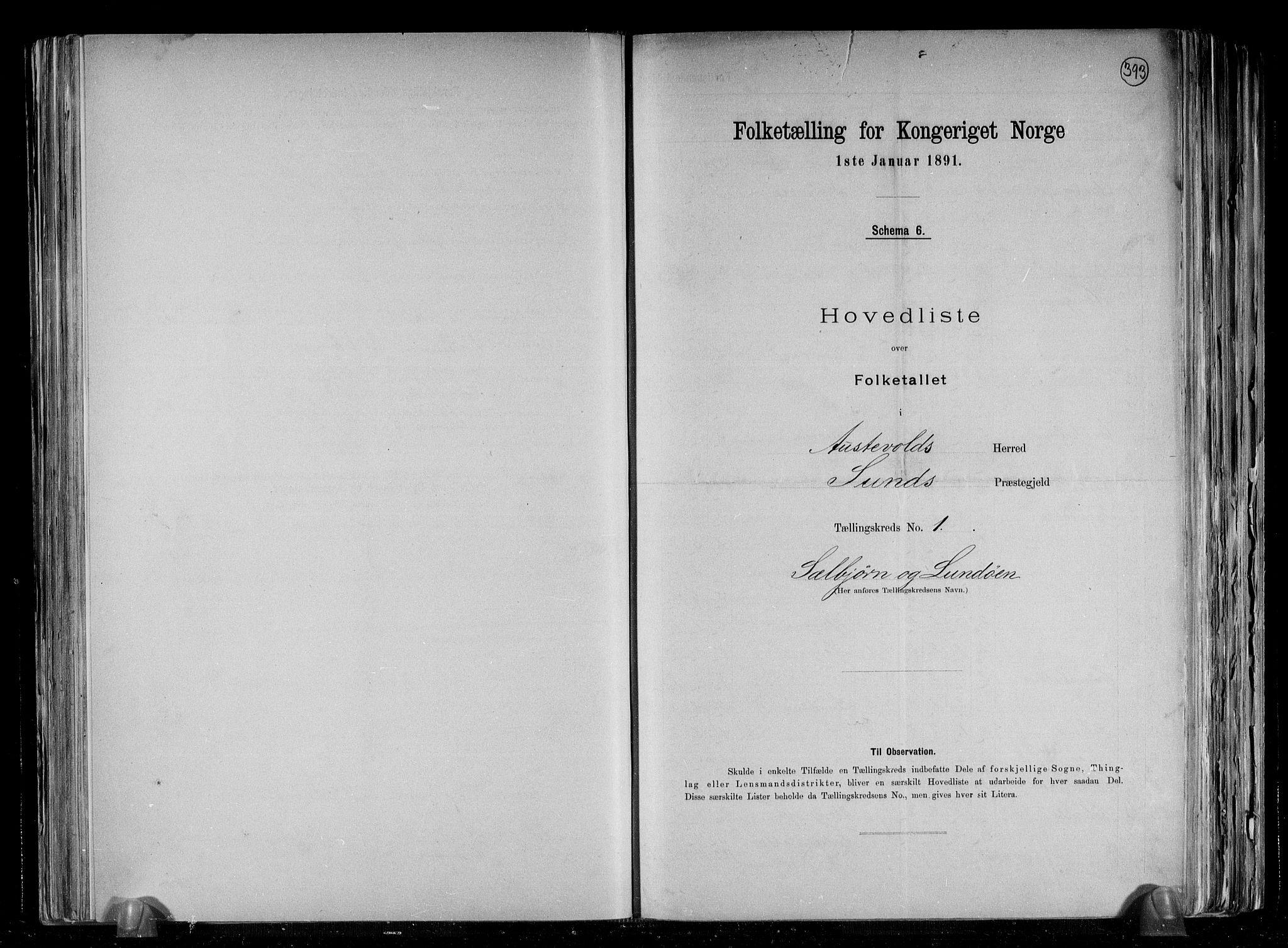 RA, Folketelling 1891 for 1244 Austevoll herred, 1891, s. 4