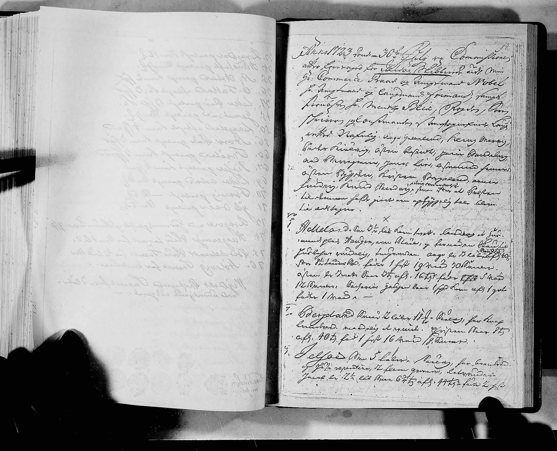 RA, Rentekammeret inntil 1814, Realistisk ordnet avdeling, N/Nb/Nbf/L0133a: Ryfylke eksaminasjonsprotokoll, 1723, s. 84a